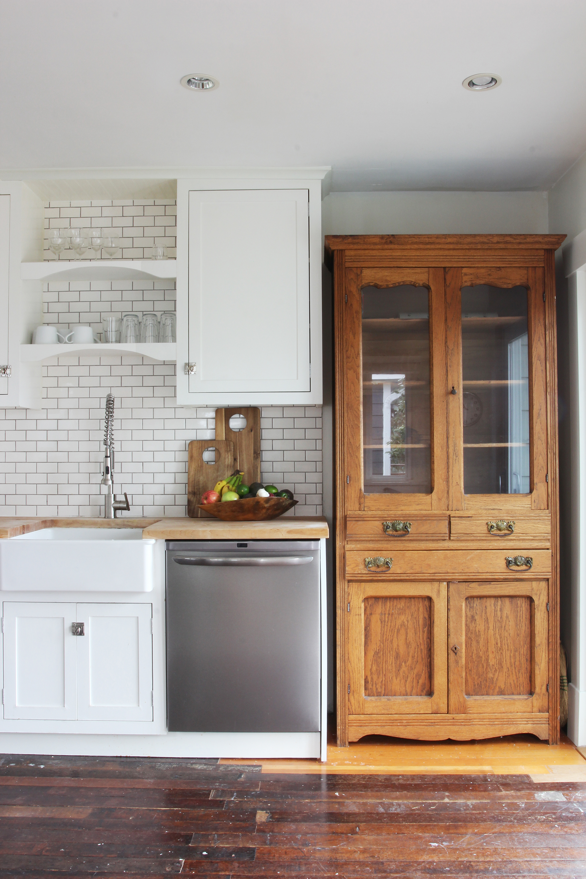 The Grit and Polish - Bryant Kitchen hutch and fruit.jpg