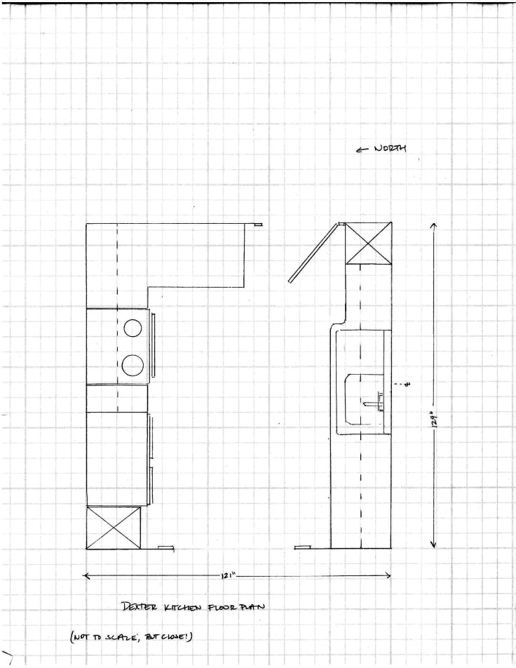 The Grit and Polish - Dexter Kitchen Plan