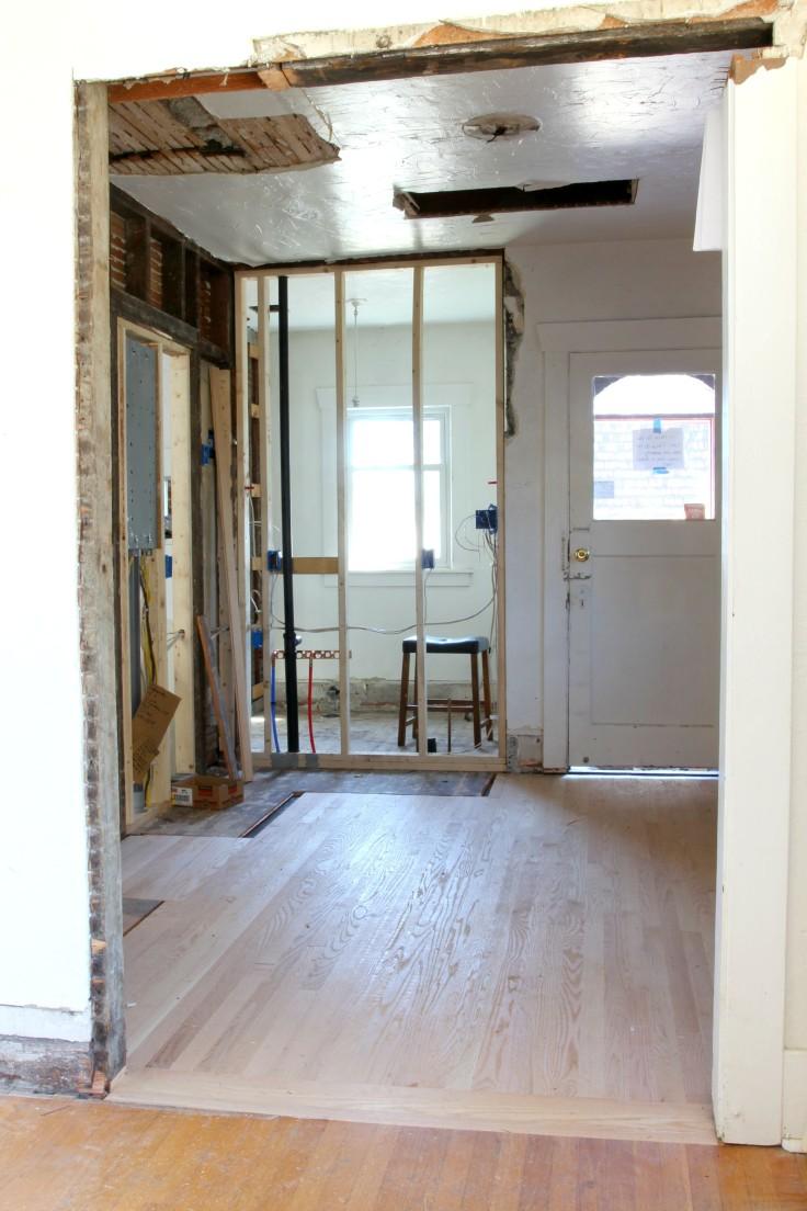 The Grit nad Polish - Dexter Kitchen Hardwood Install