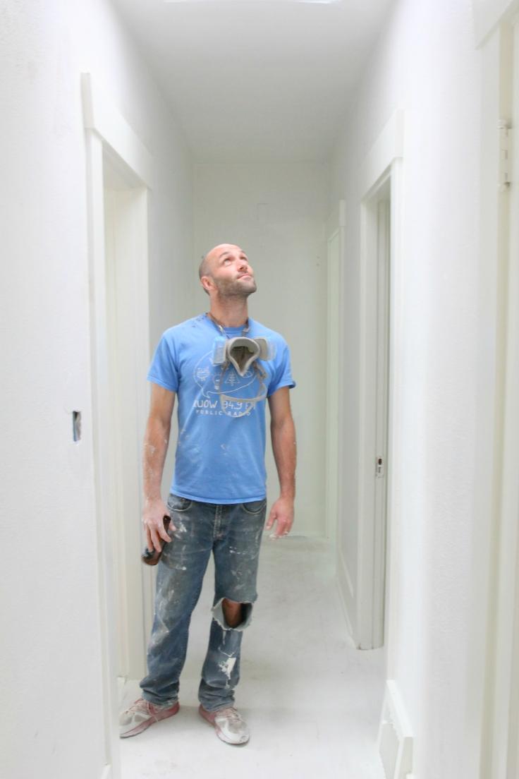 The Grit and Polish - hallway pried with Garrett