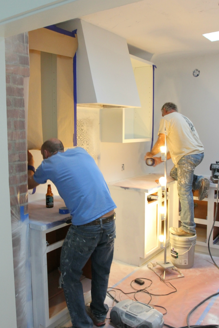 The Grit and Polish - Cabinet Masking