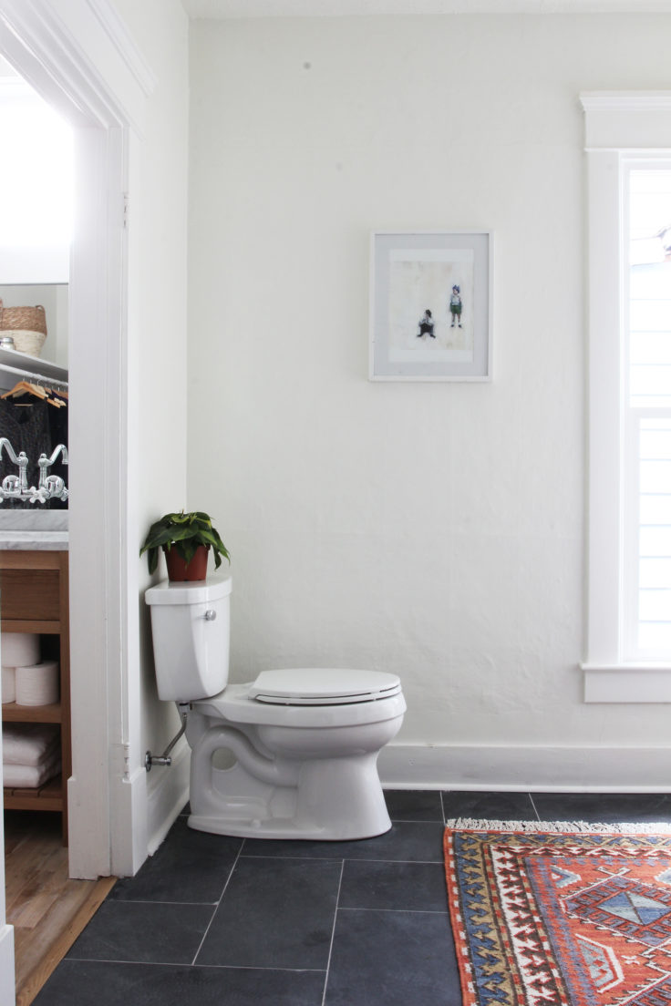 The Grit and Polish - Porch Master Bathroom Toilet