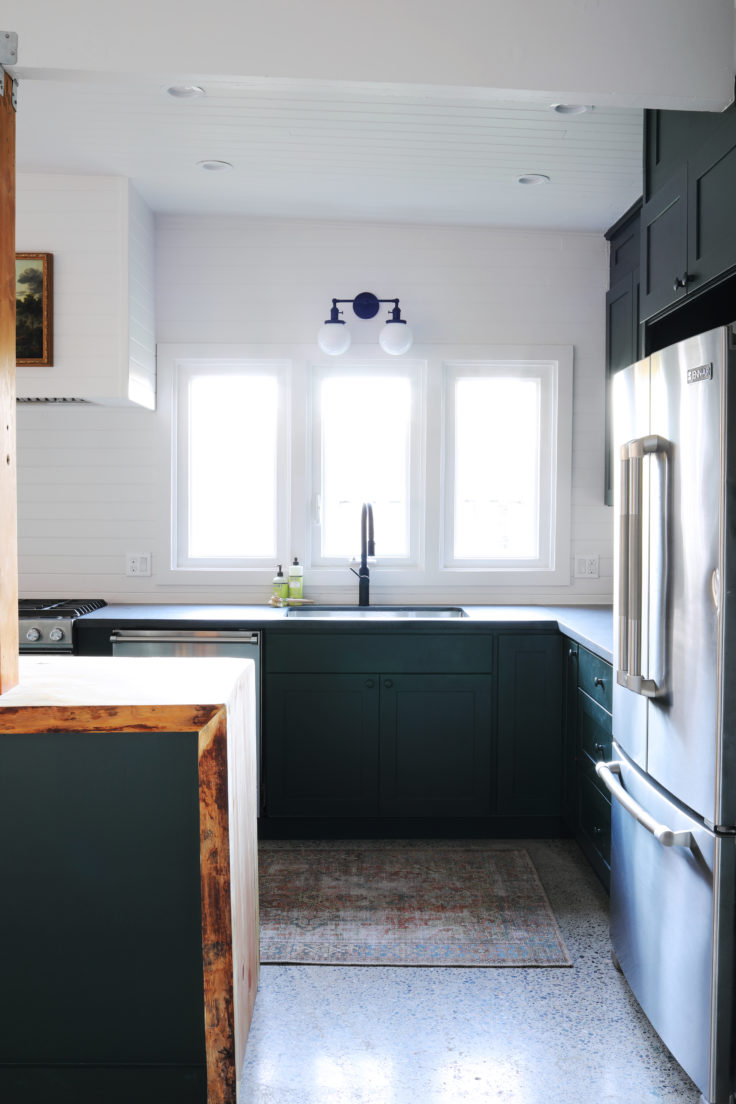 Tacoma Converted Garage Moody Kitchen What It Cost Budget Tips The Grit And Polish