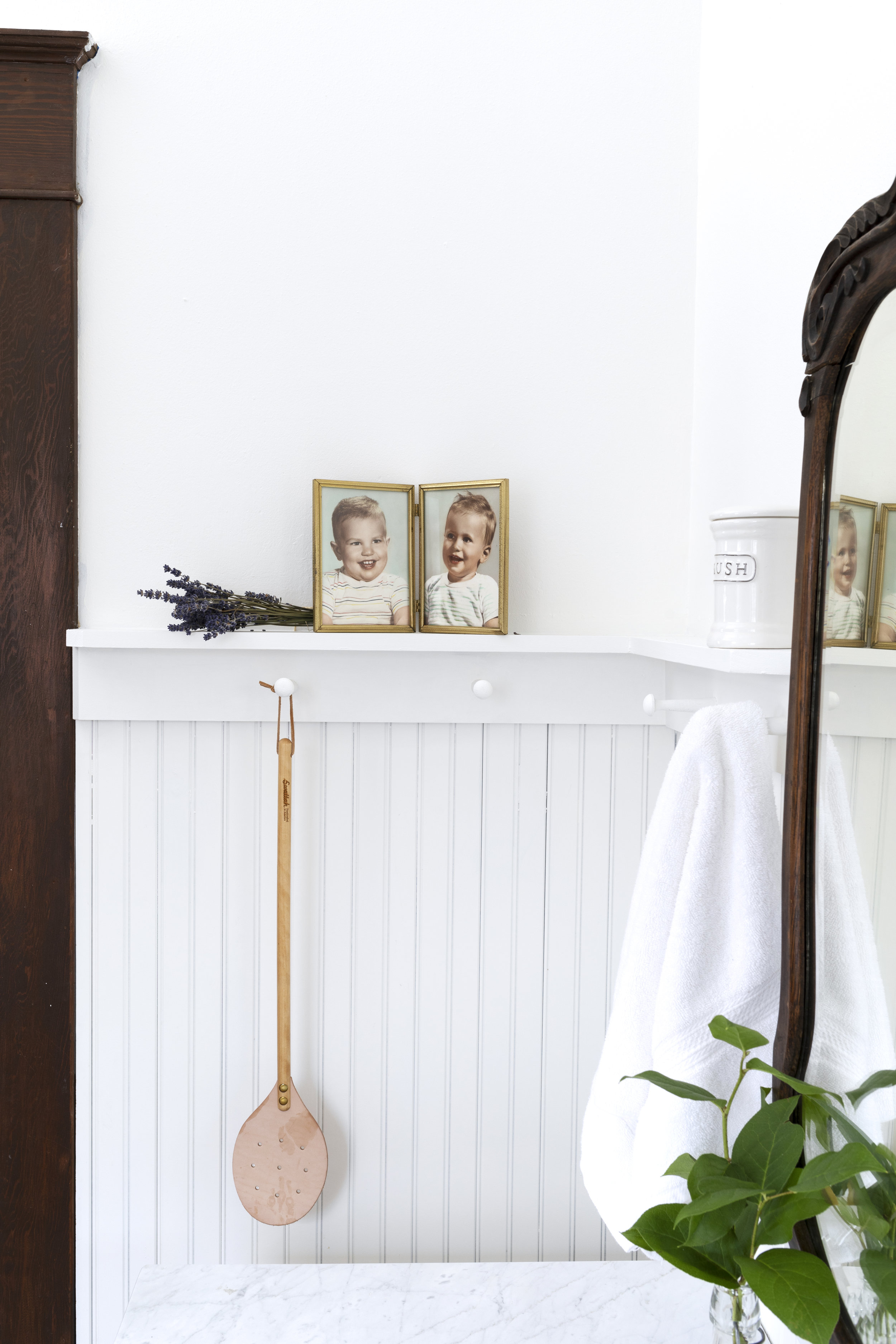 The Grit and Polish - Farmhouse Bathroom Budget Refresh Baby Pics.jpg