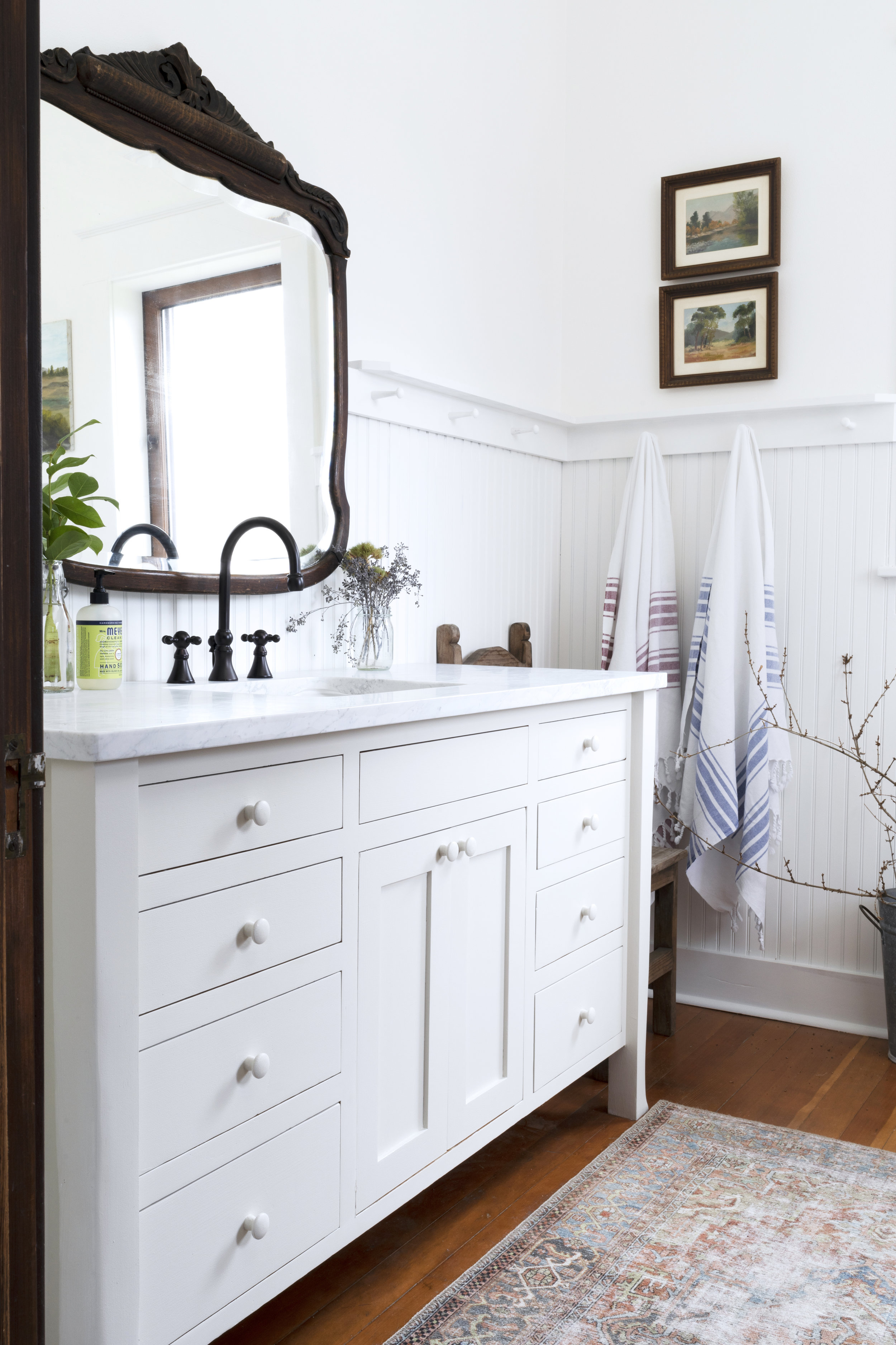 The Grit and Polish - Farmhouse Bathroom Budget Refresh Vanity AFTER 1.2.jpg
