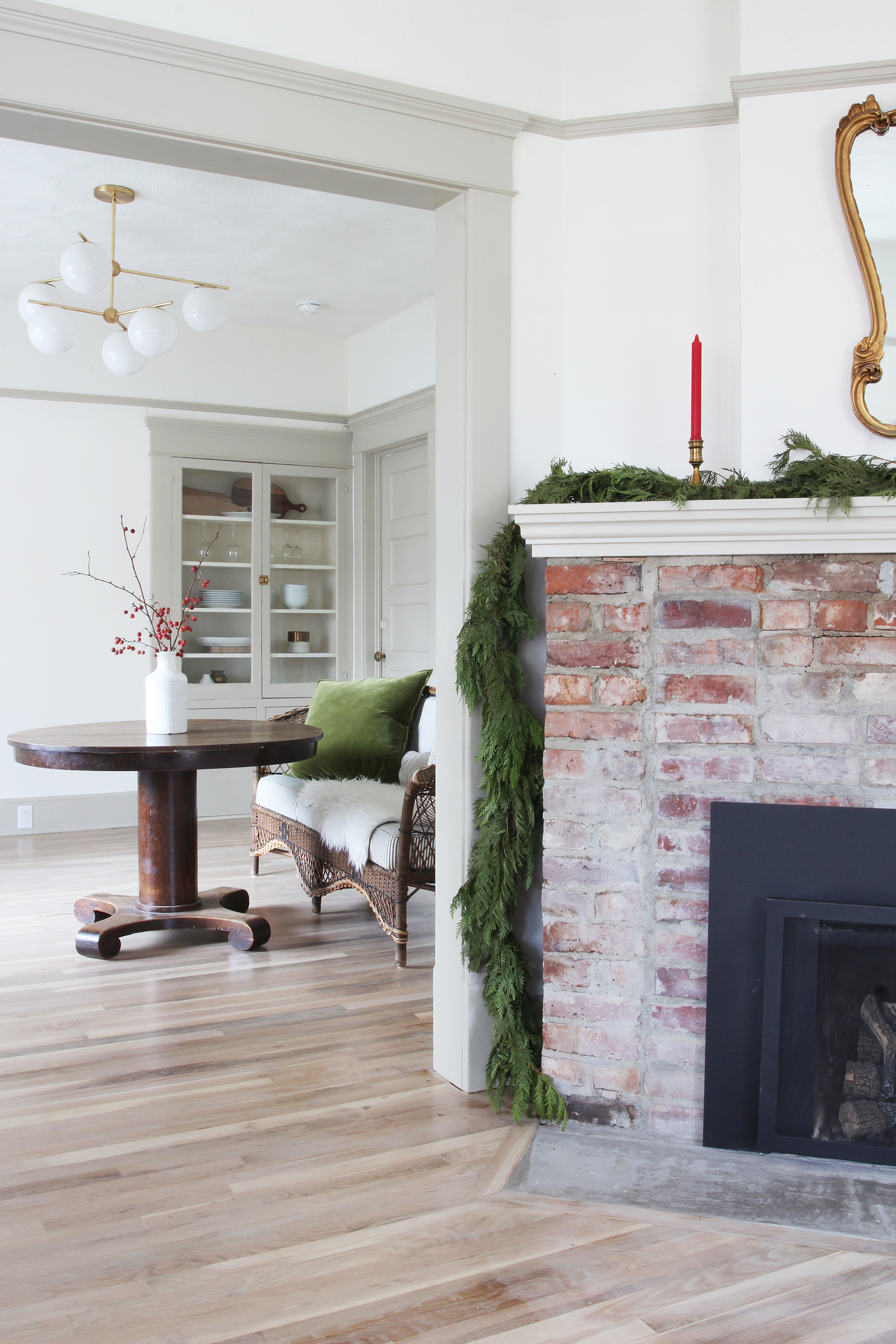 The Grit and Polish - Porch Dining Room Xmas 2.jpg