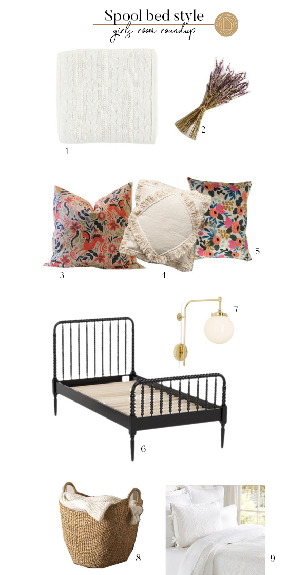 The Grit and Polish- Spool Bed Jenny Lind Bed Style Collage 2.jpg