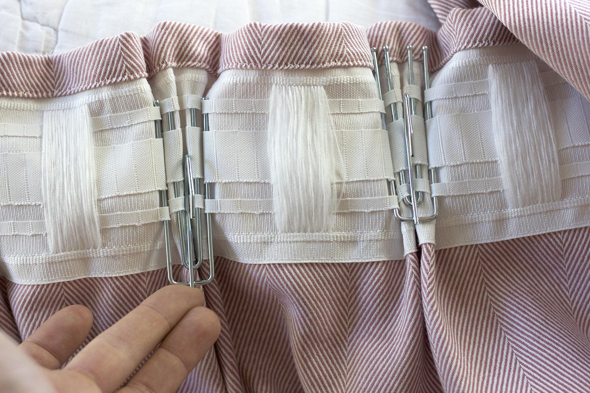 The Grit and Polish - Farmhouse Pleated Curtain hooks install.jpg