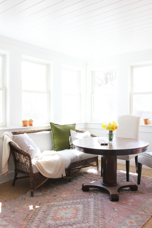 The Grit and Polish - Porch House Sunroom sun