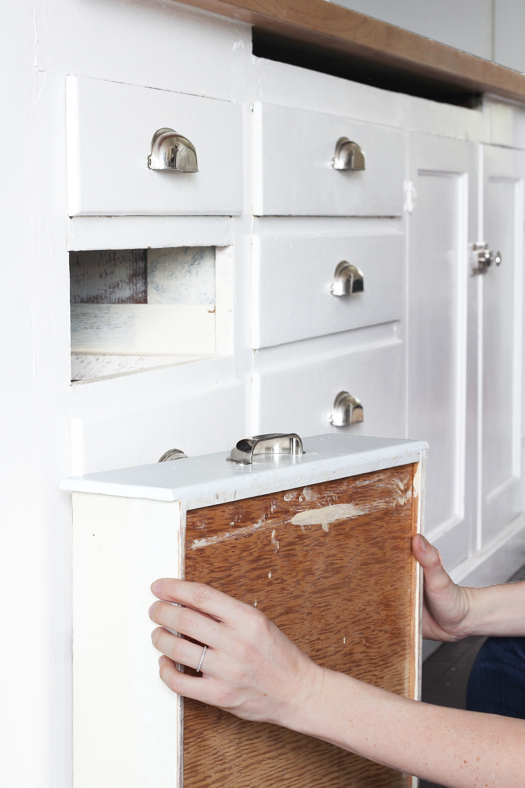 DIY // How To Make Old Wood Drawers Slide Easier — The ...