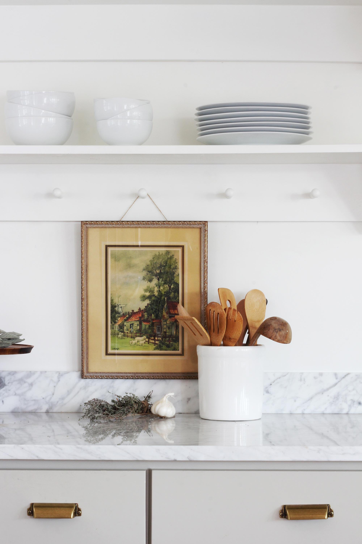 The Grit and Polish - Porch Kitchen Shelf 2.1