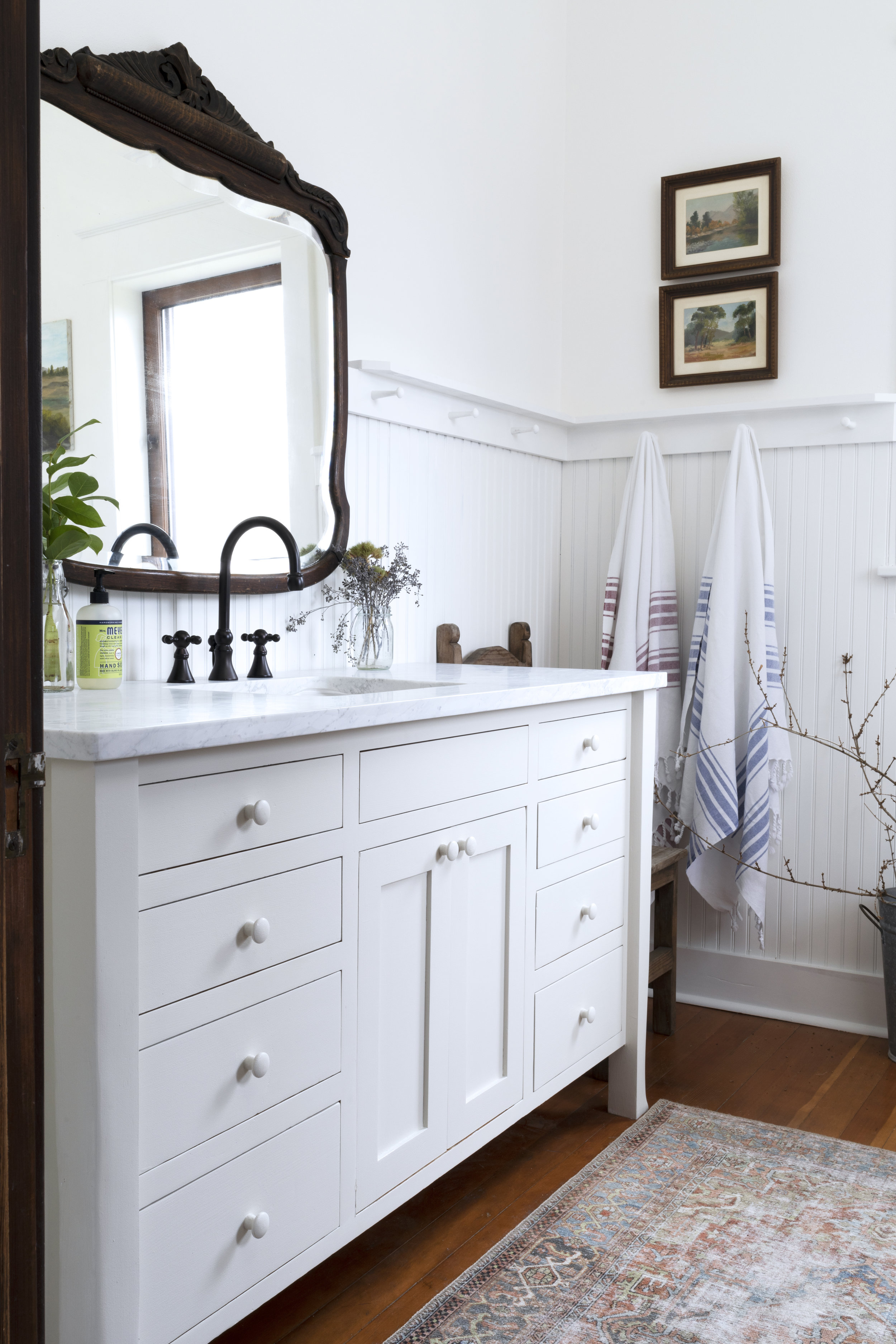 The Grit and Polish - Farmhouse Bathroom Budget Refresh Vanity AFTER.jpg