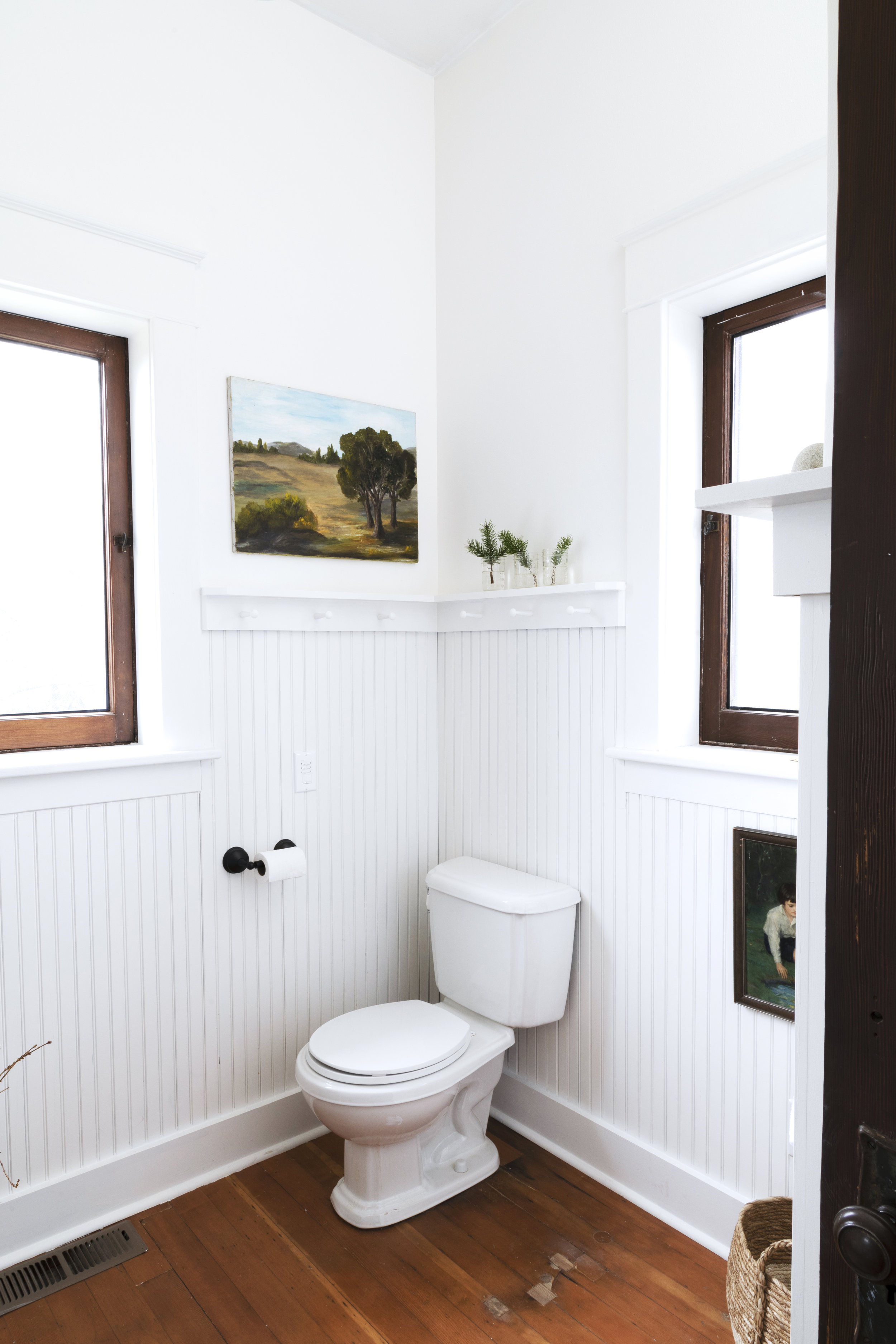 The Grit and Polish - Farmhouse Bathroom Budget Refresh Toilet Wide.jpg