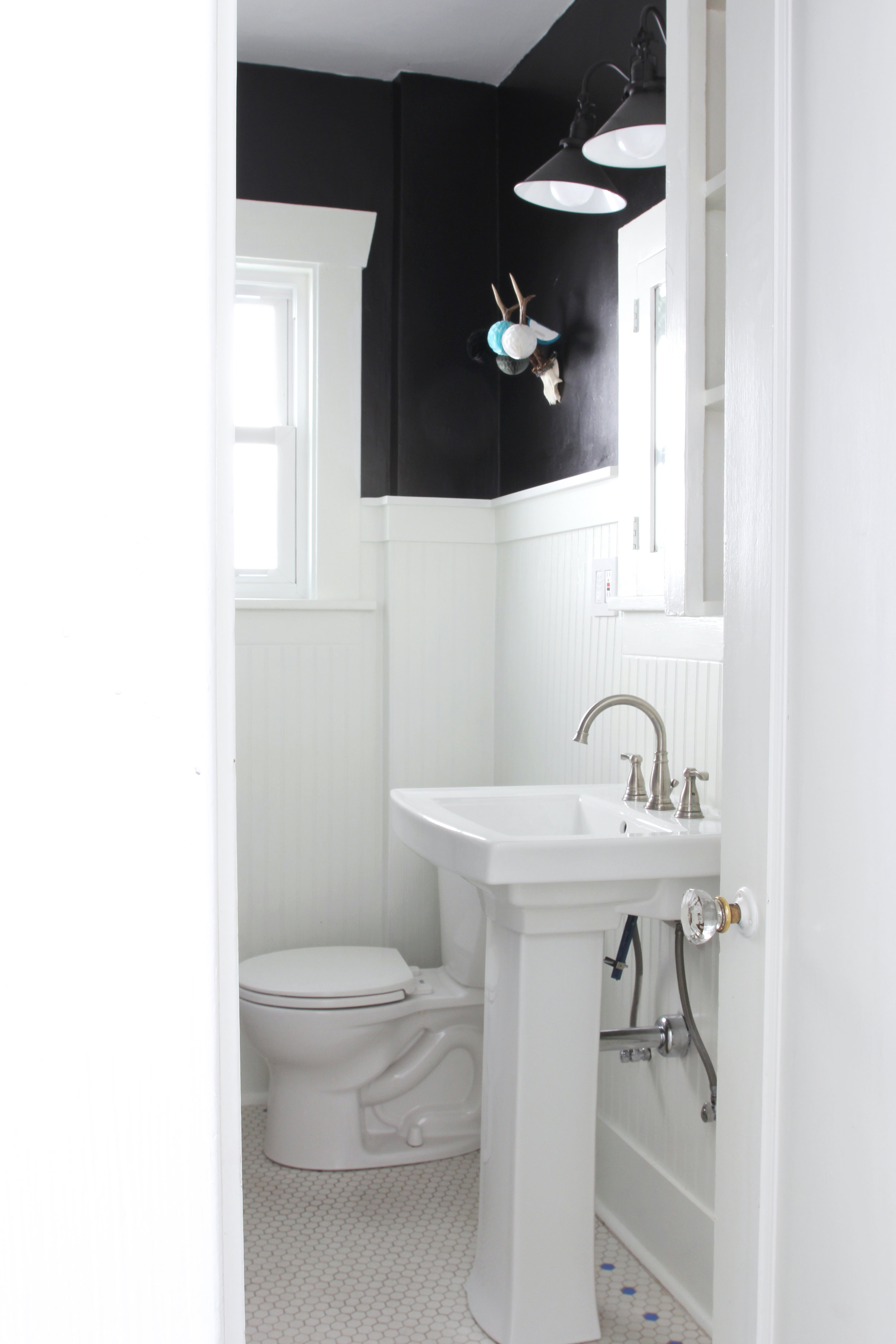 bathroom remodel under $1000 // the Dexter House // from the Grit and Polish