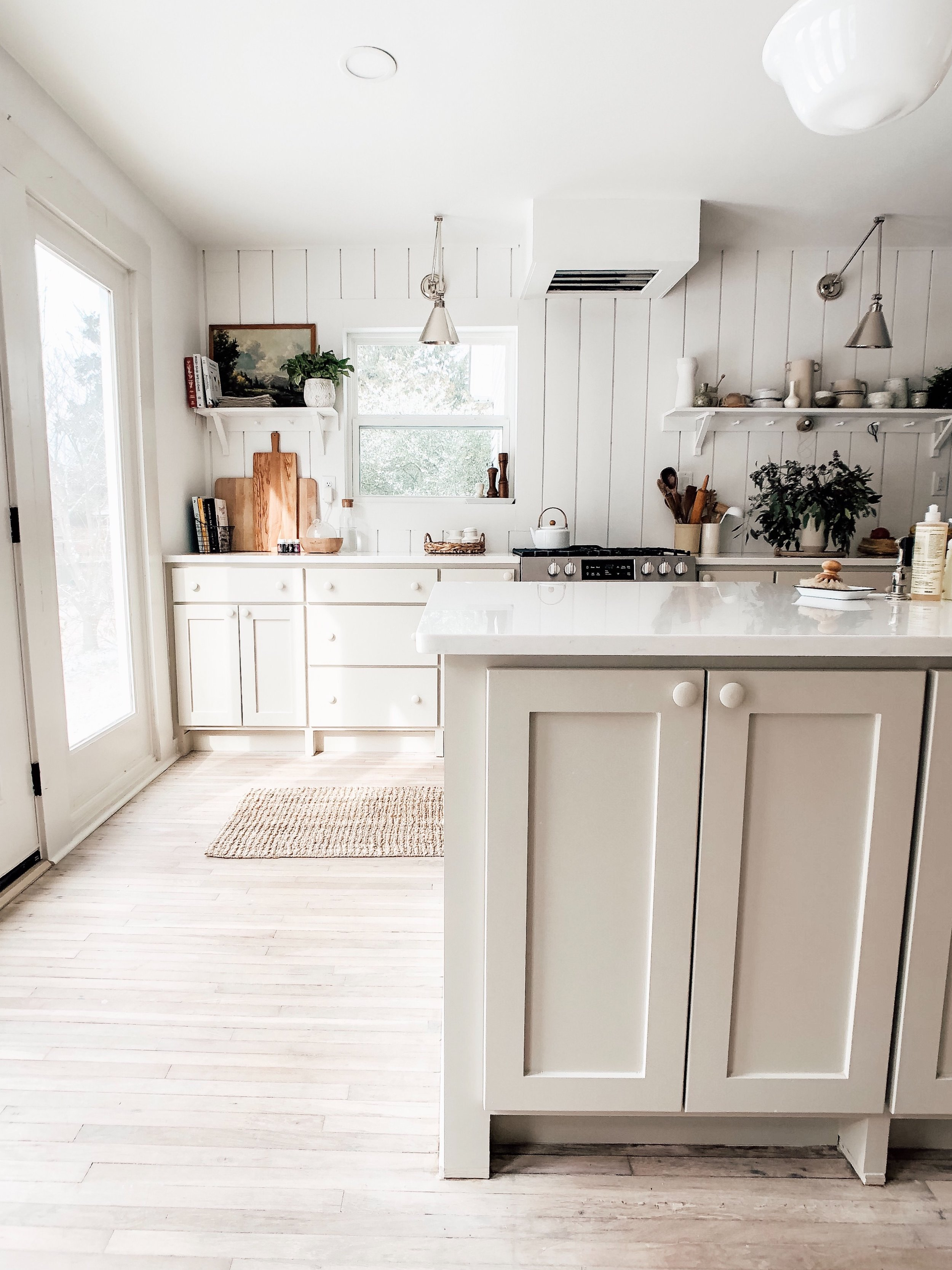 Emily Sue Netz Kitchen // neutral cabinet paint colors for kitchens // the Grit and Polish