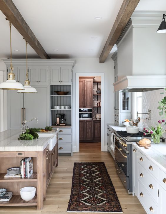 8 Great Neutral Cabinet Colors for kitchens — The Grit and ...