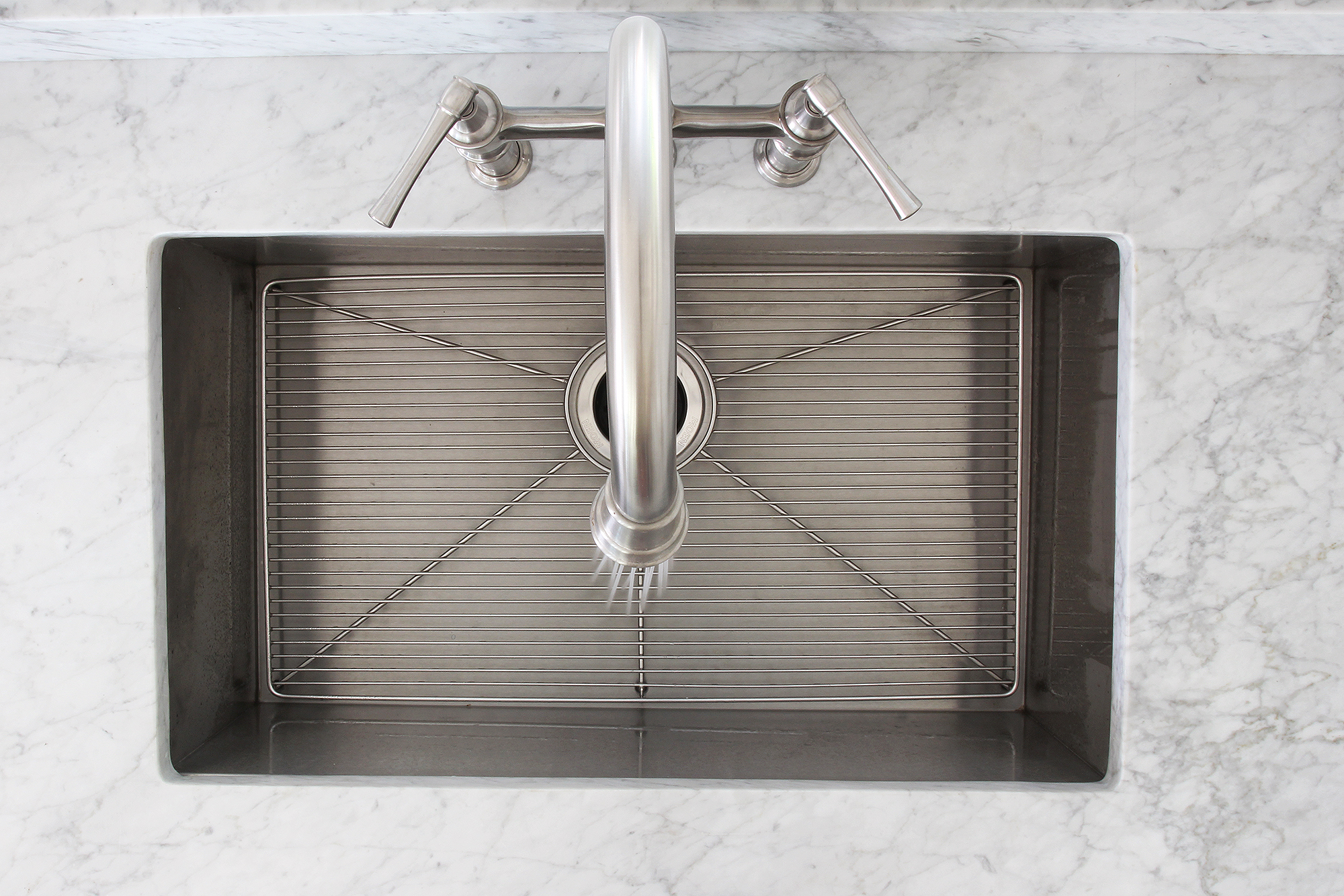The Grit and Polish - Porch House Elkay Sink and Faucet Top
