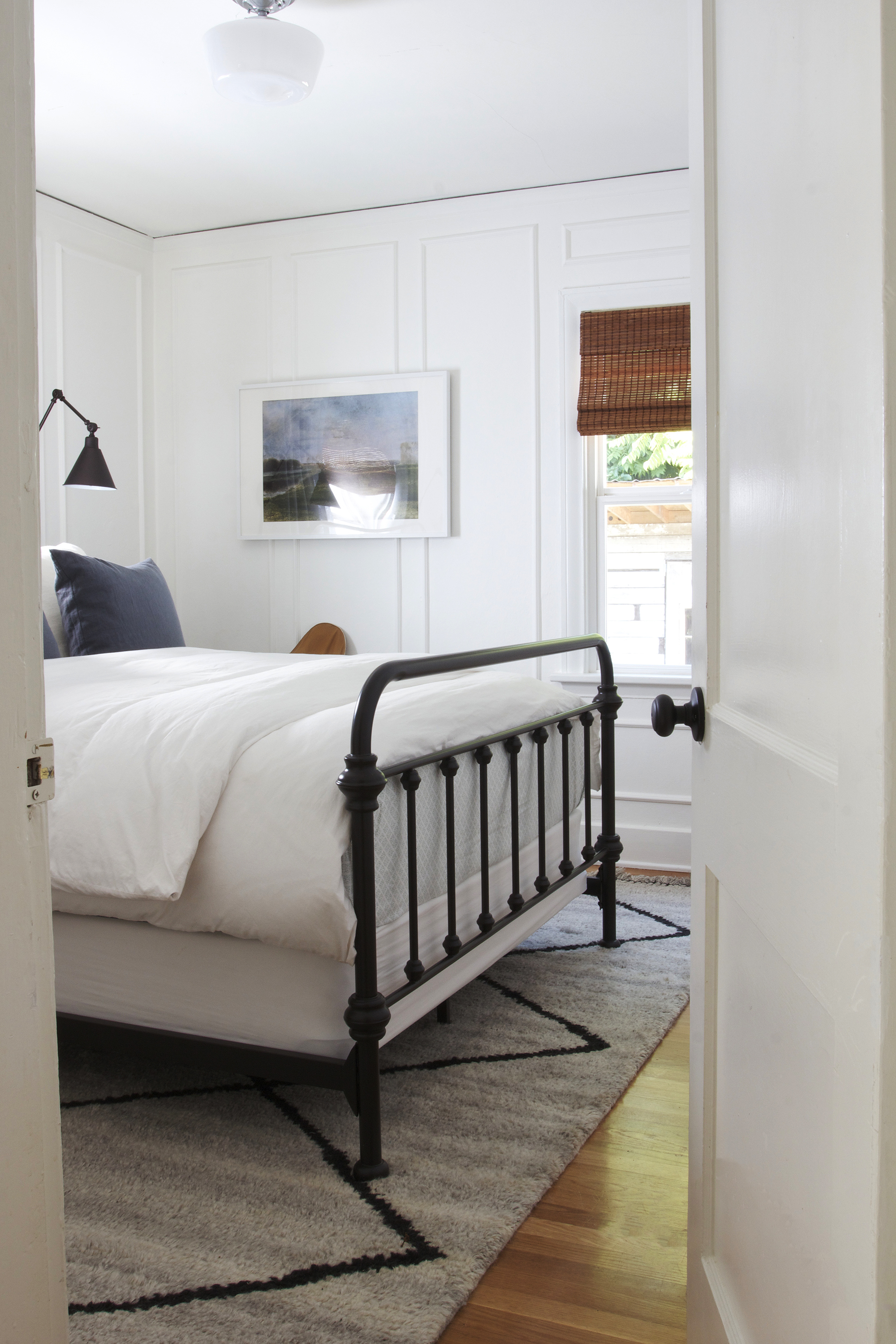 The Grit and Polish - Ravenna 2.0 Master Bedroom with Door.jpg