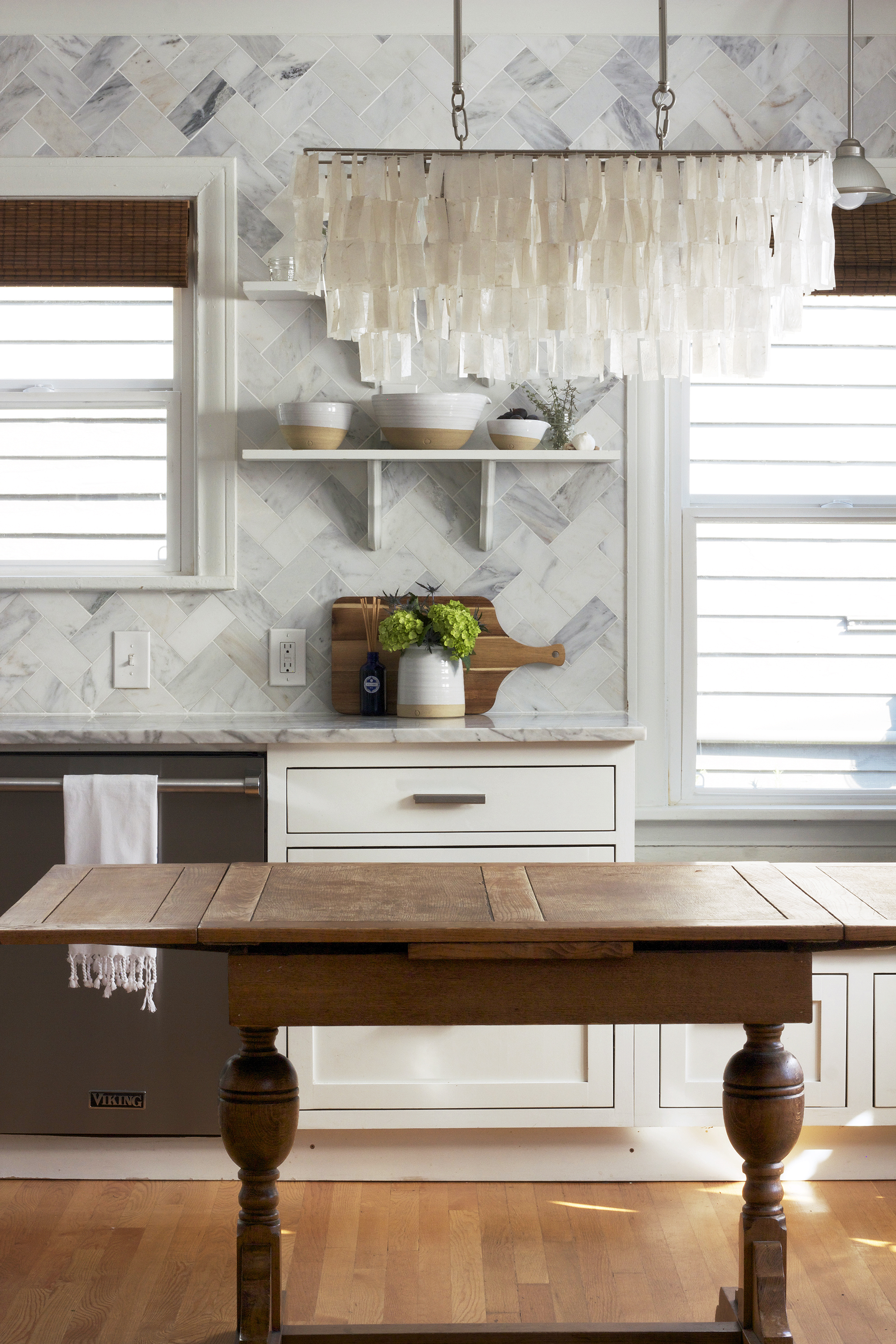 The Grit and Polish - Ravenna 2.0 Wood and Marble Kitchen Shelves.jpg