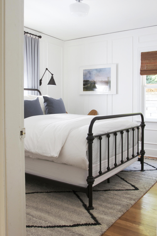 The Grit and Polish - Ravenna 2.0 Master Bedroom Metal Bed 2.jpg
