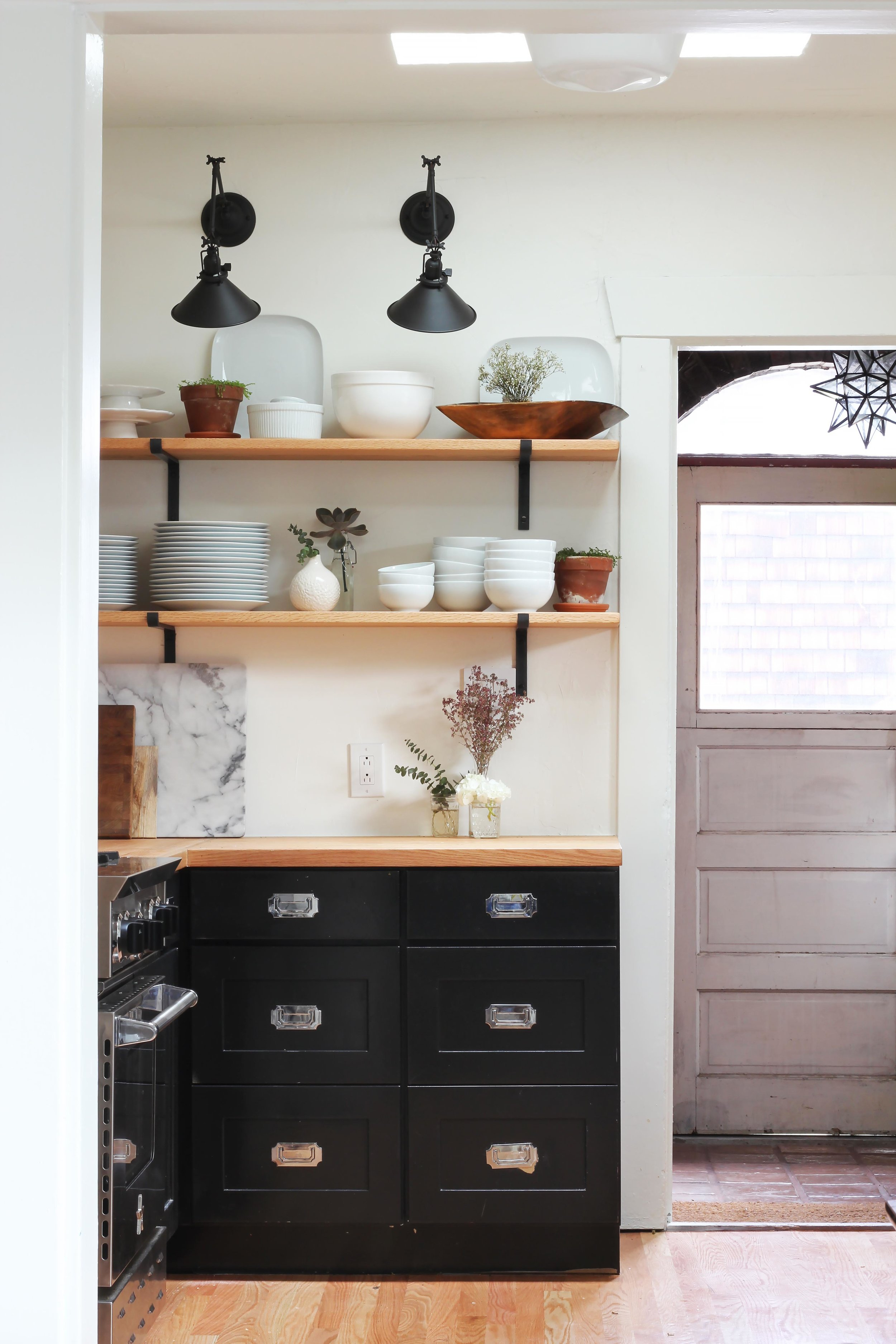 The Grit and Polish - Dexter Kitchen Renovation Open Shelves.jpg