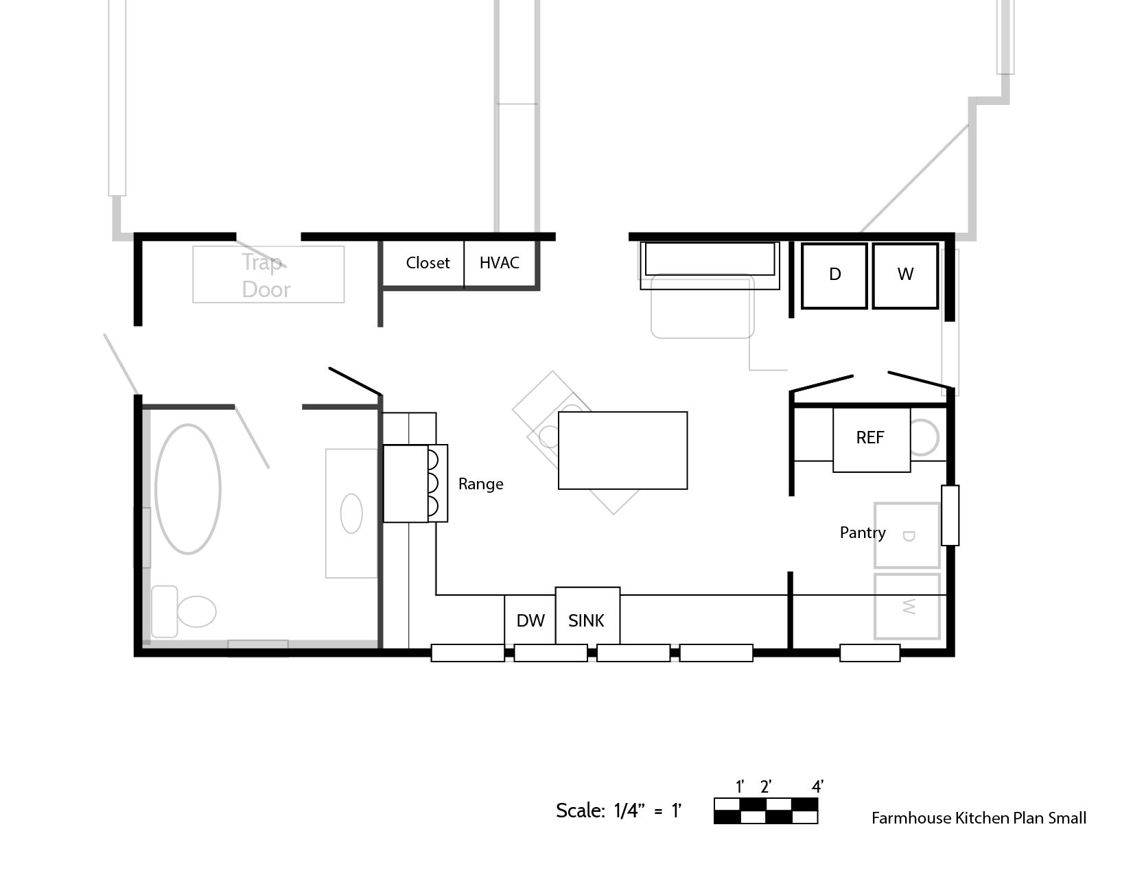 kitchen floorplans our final farmhouse kitchen floor plan and how we made the decision the grit and polish 2233