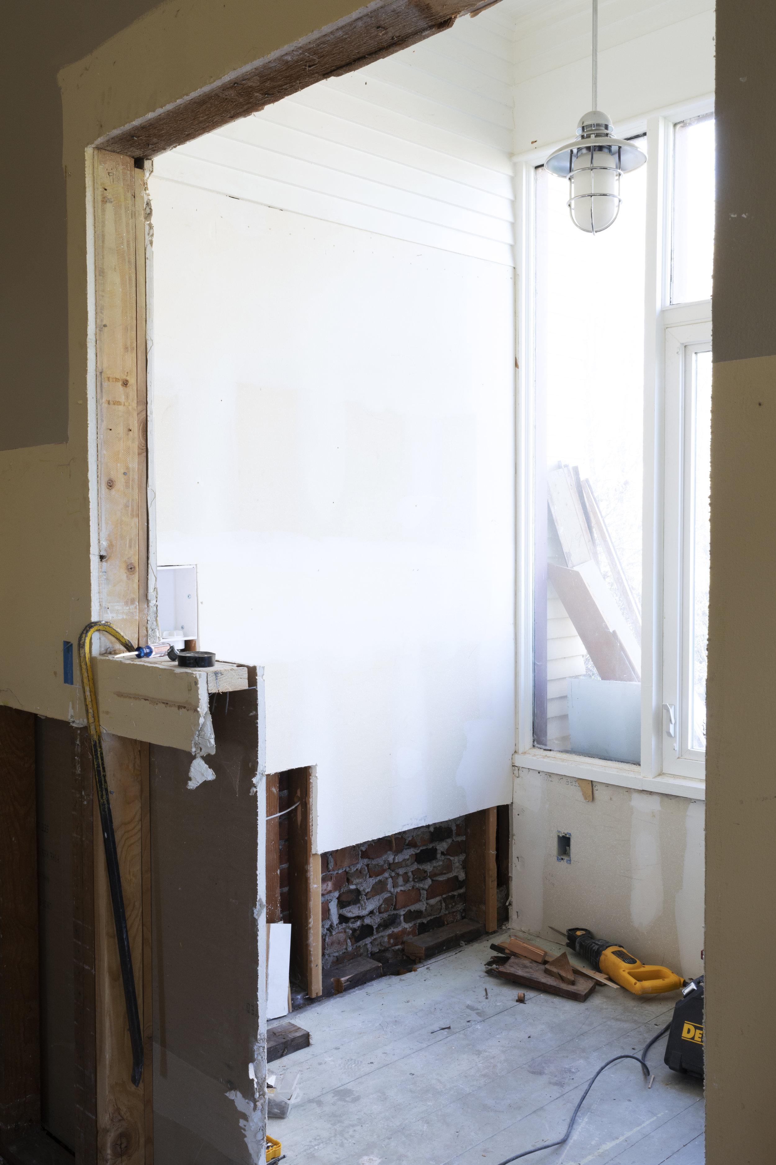 The Grit and Polish - Farmhouse Laundry Room Demo Angle.jpg