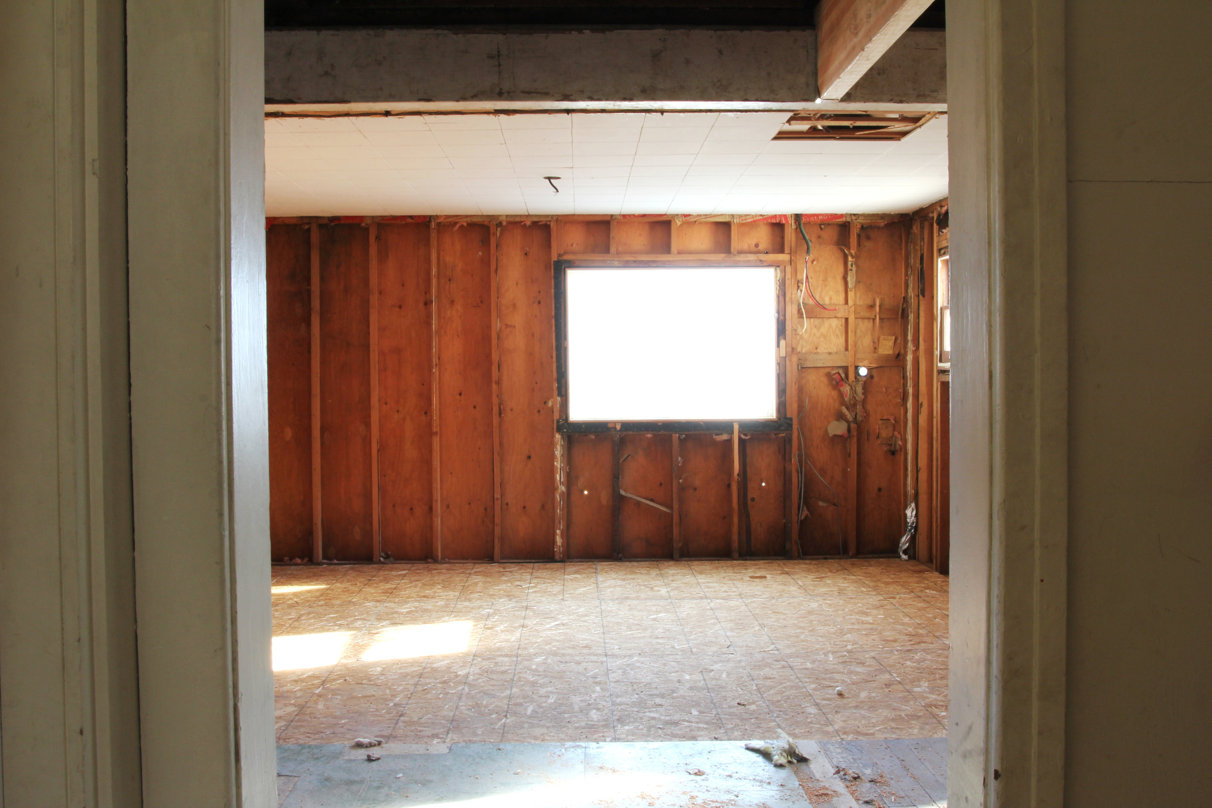 THe Grit and Polish - Porch Kitchen Demo Sunroom All.jpg