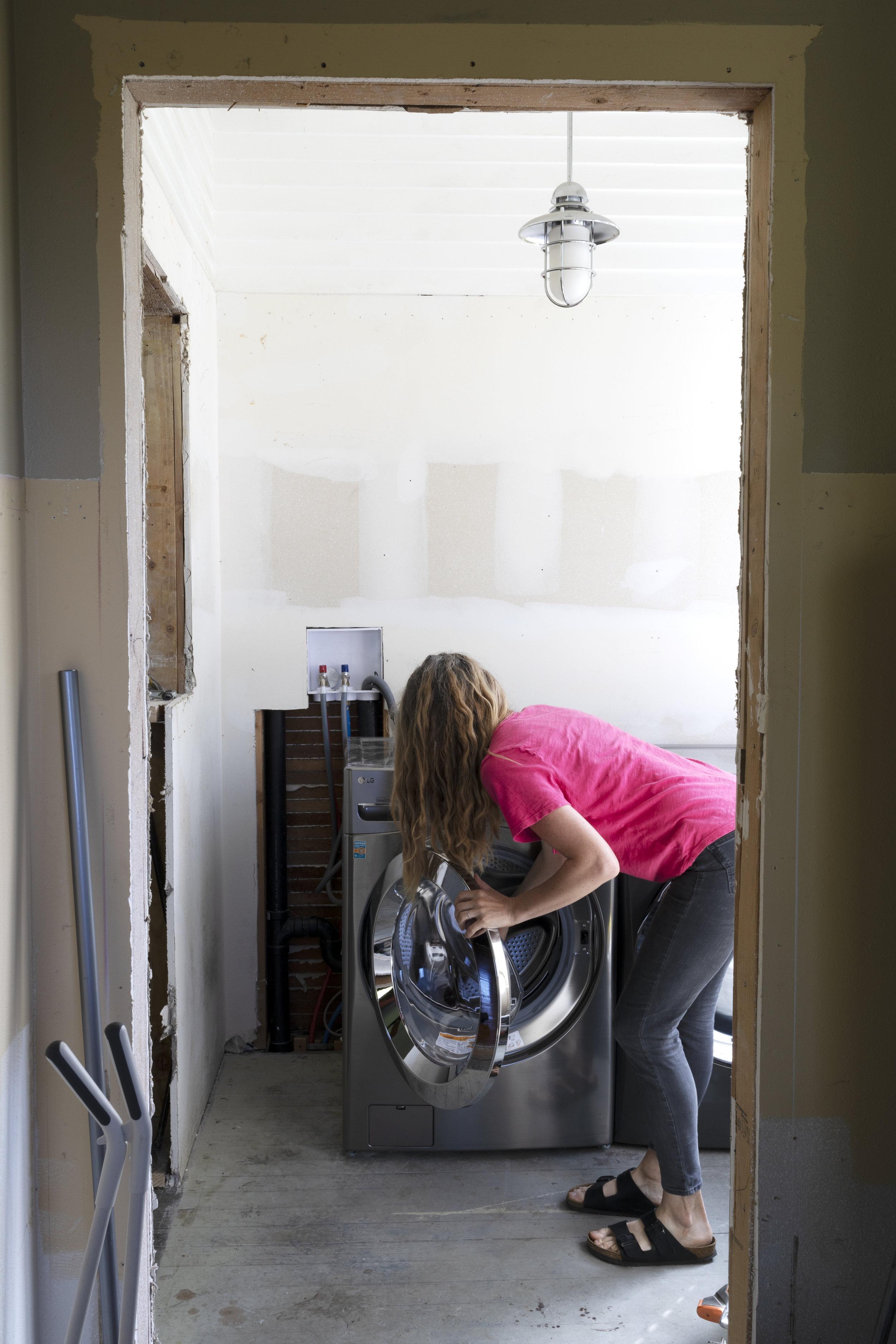 The Grit and Polish - Farmhouse Laundry Machines Me 1.jpg