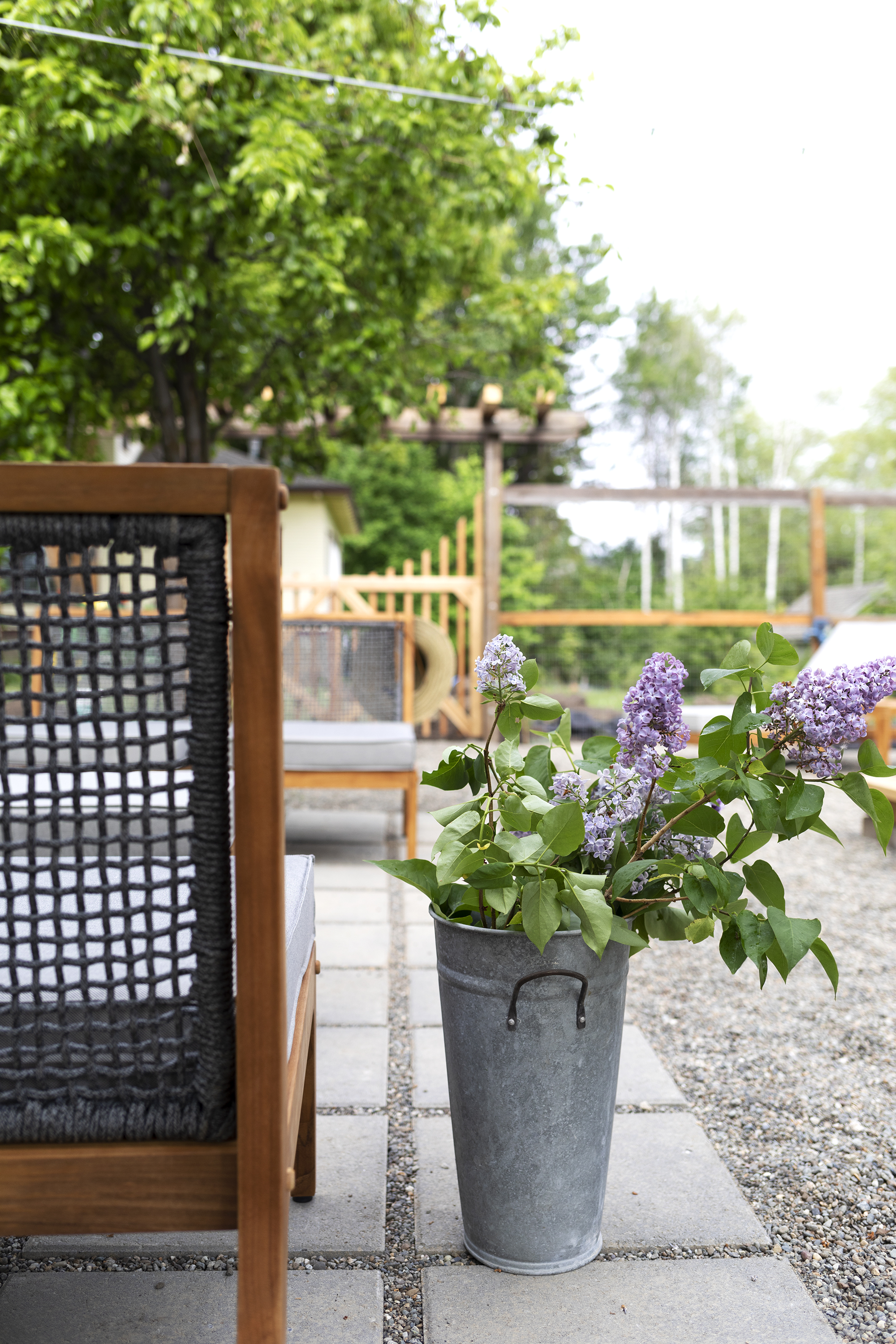 The Grit and Polish - Farmhouse Garden Patio + Lilacs.jpg
