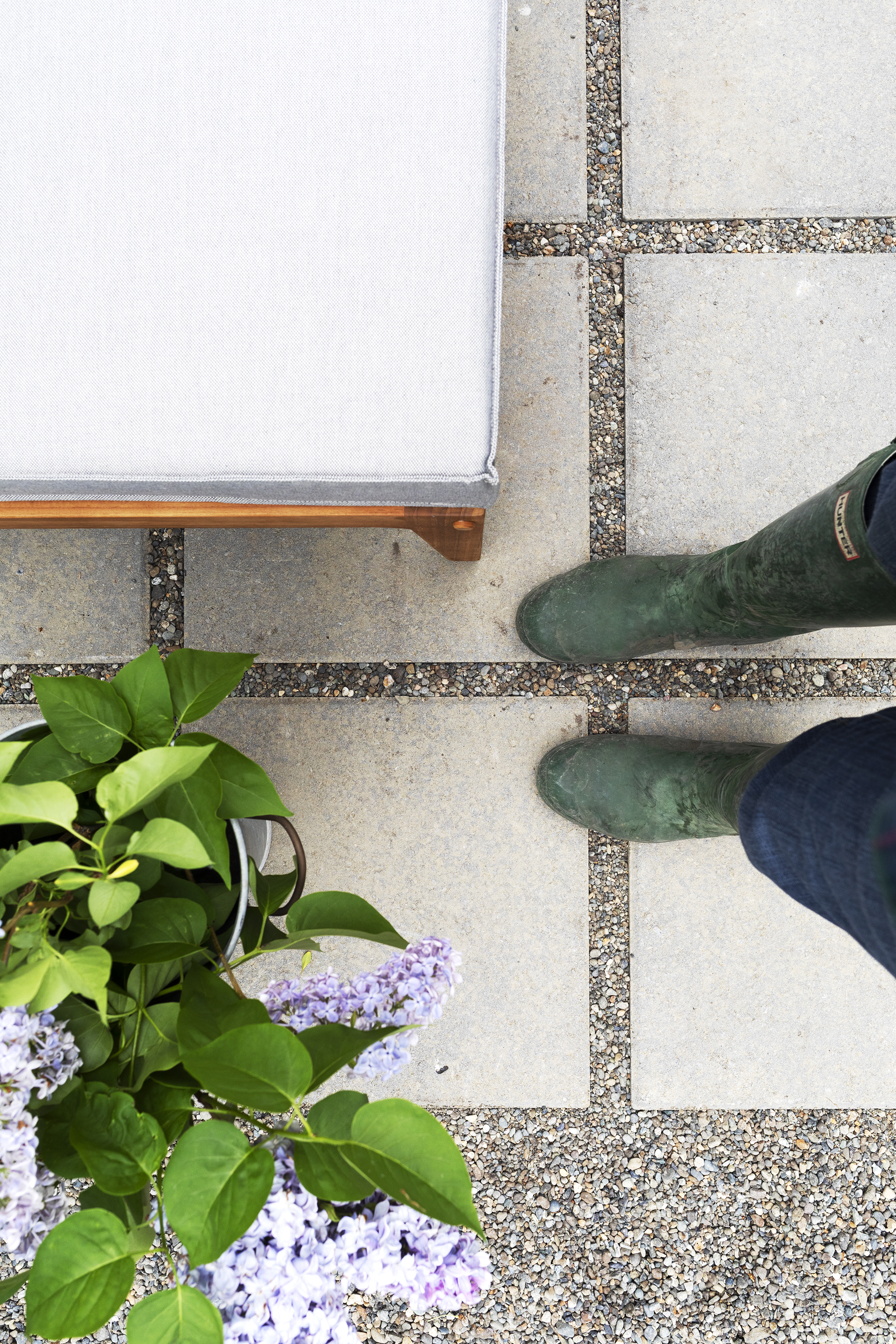 The Grit and Polish - Farmhouse Garden Patio + Feet.jpg