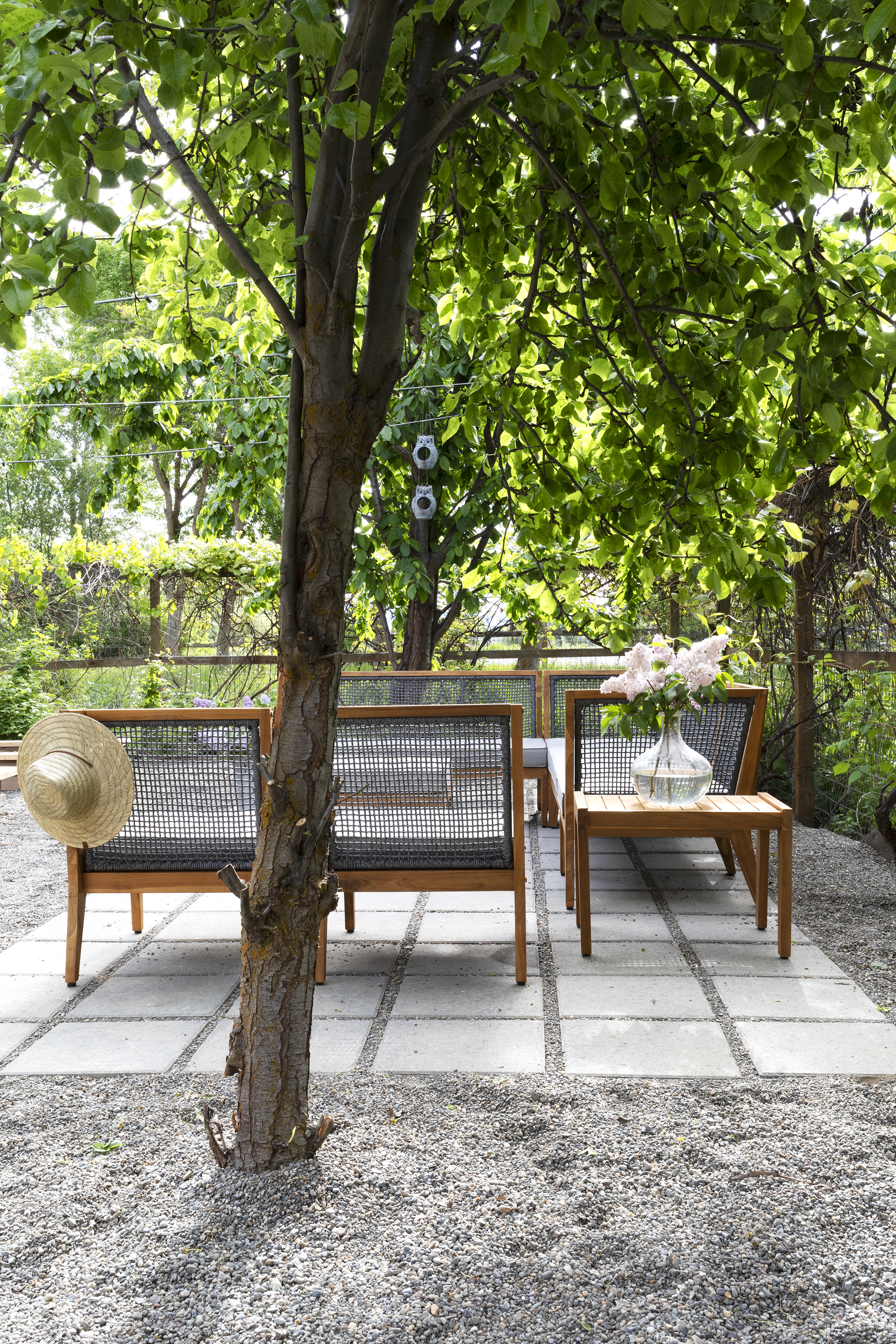 The Grit and Polish - Farmhouse Garden Patio + Pear Tree.jpg