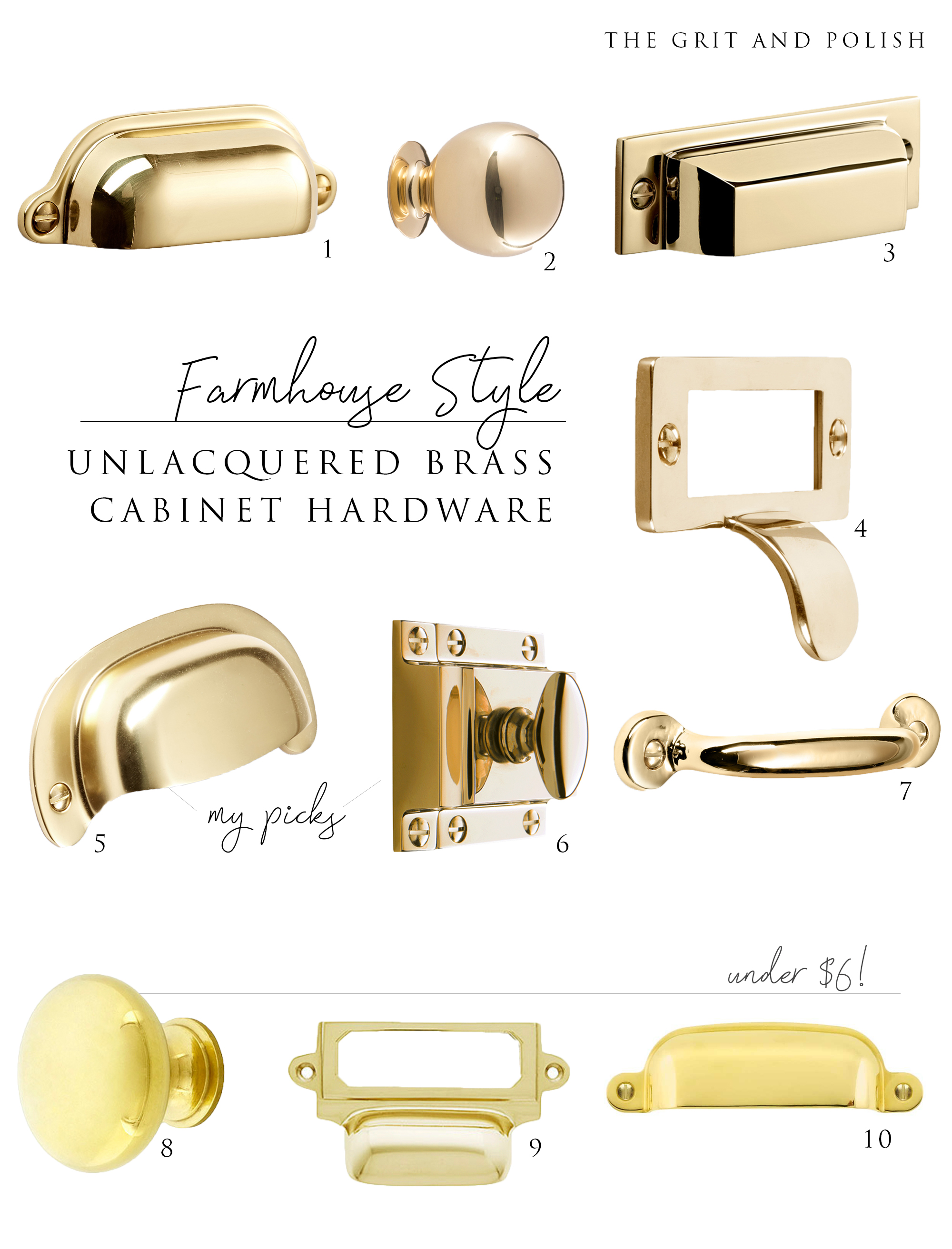 The Grit and Polish - Brass Hardware Roundup.jpg
