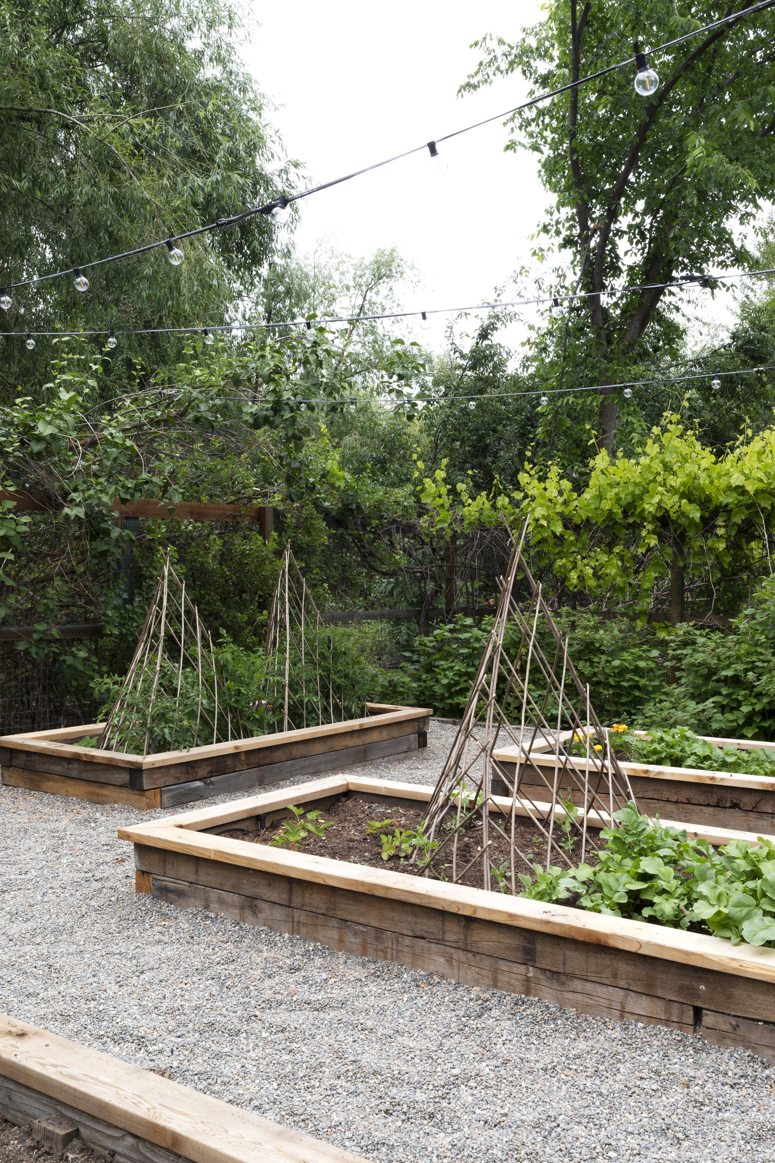 The Grit and Polish - Farmhouse Garden Willow Pyramid.jpg