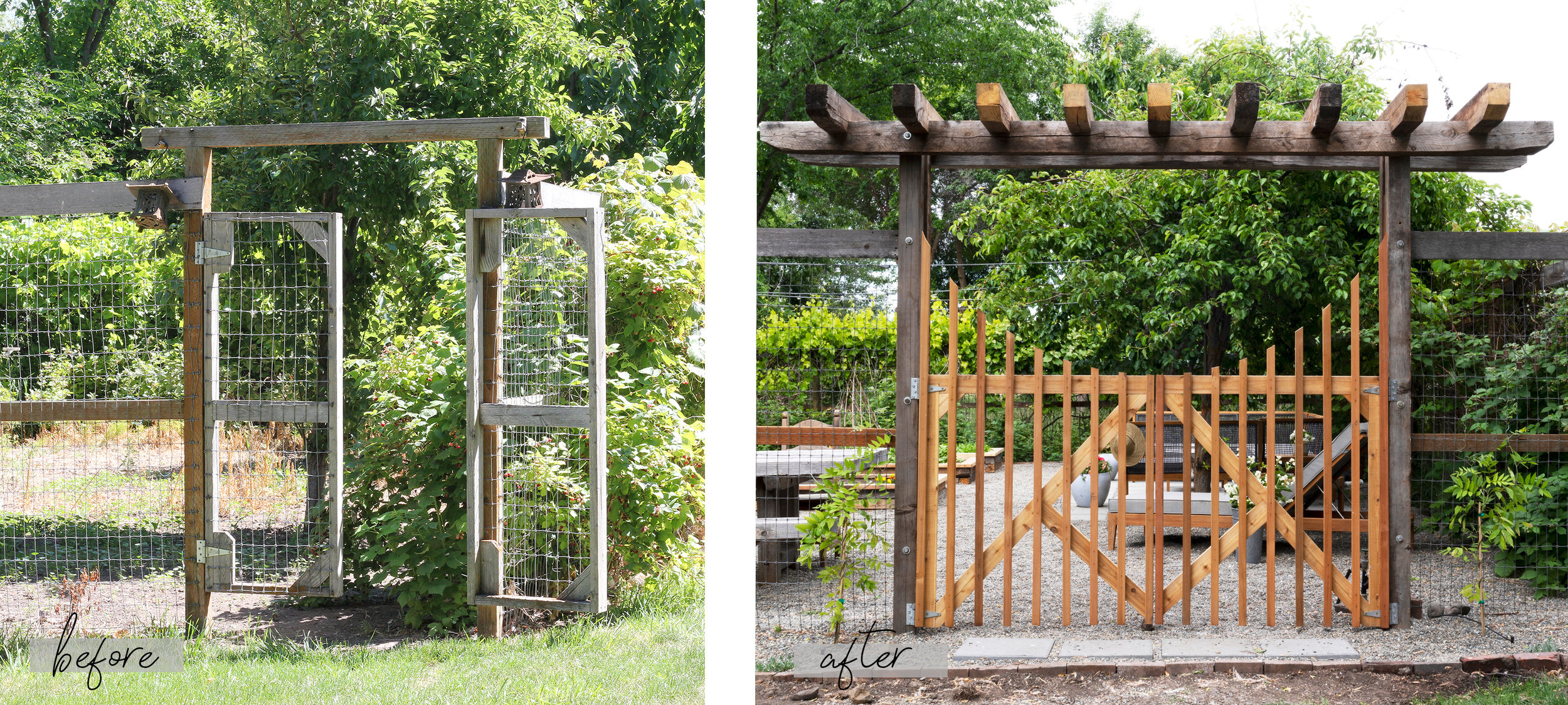 The Grit and Polish - Farmhouse Garden BEFORE AND AFTER 3.jpg