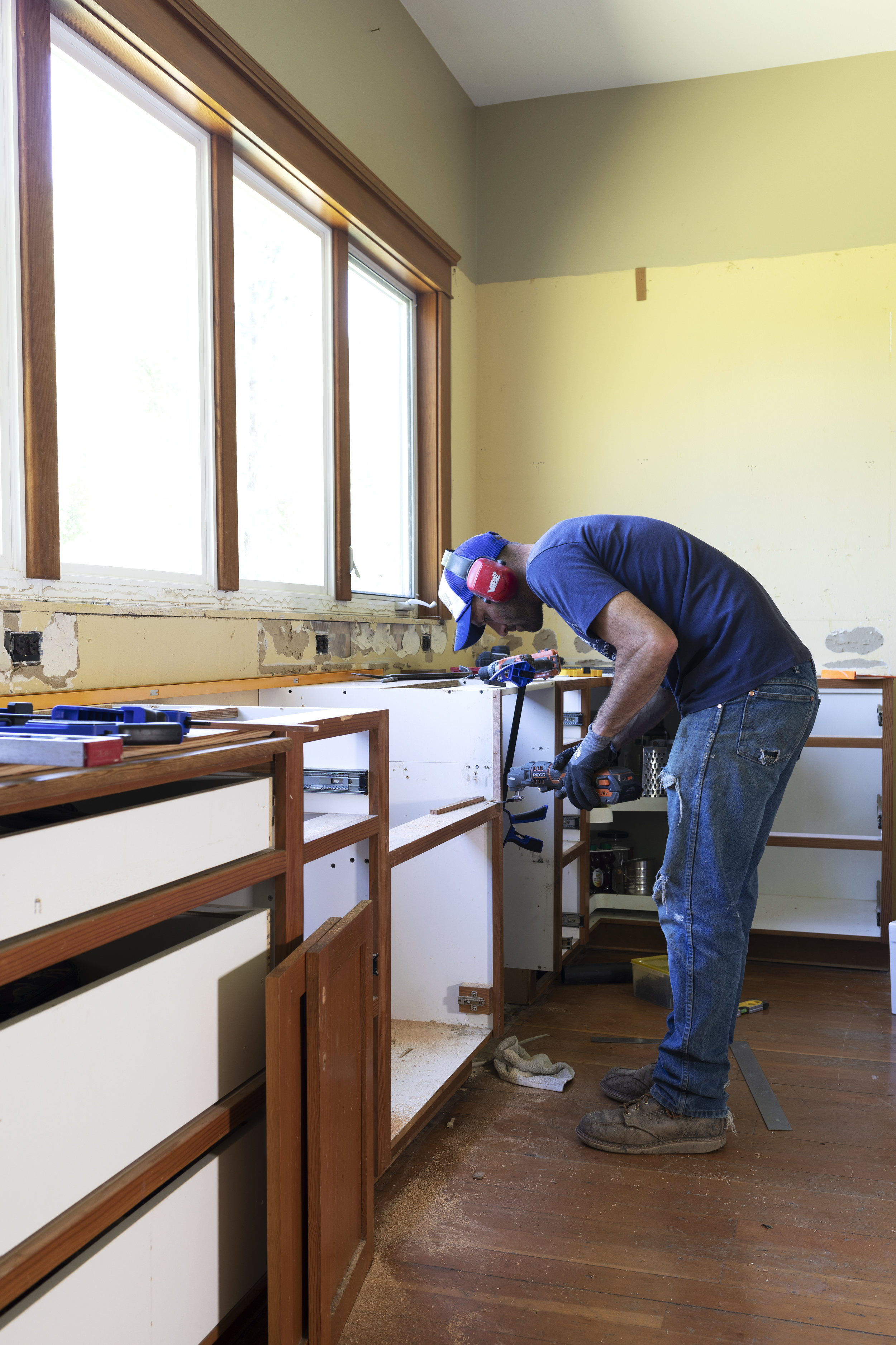 The Grit and Polish - Farmhouse Kitchen Progress 2.jpg