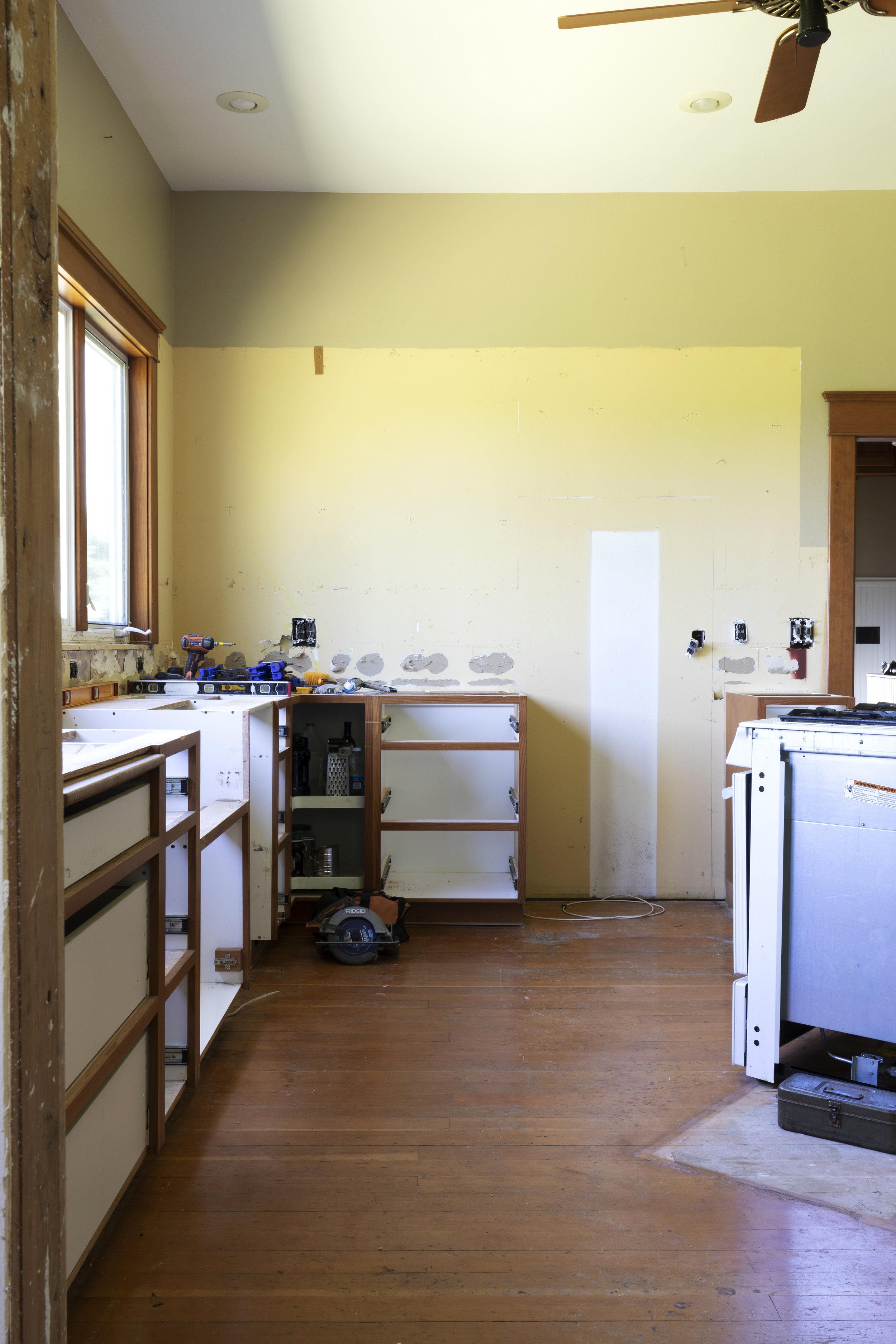 The Grit and Polish - Farmhouse Kitchen Progress 4.jpg