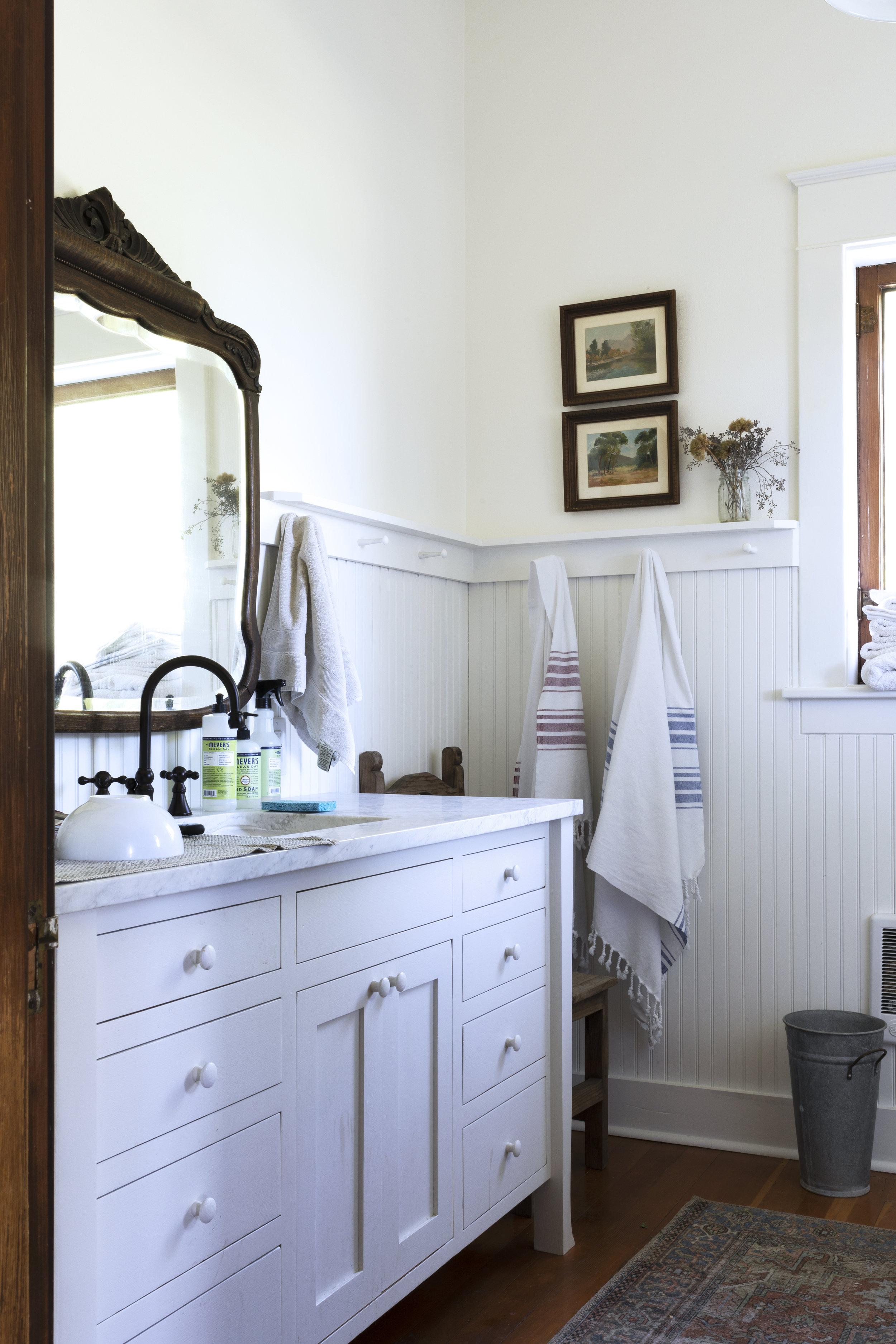 The Grit and Polish - Farmhouse Kitchen Progress Bathroom.jpg