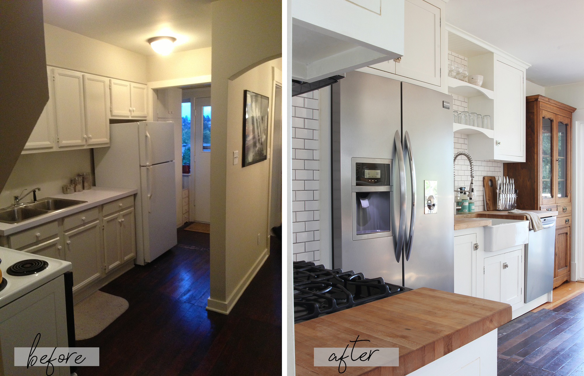 The Grit and Polish - Bryant Kitchen Before and After.jpg