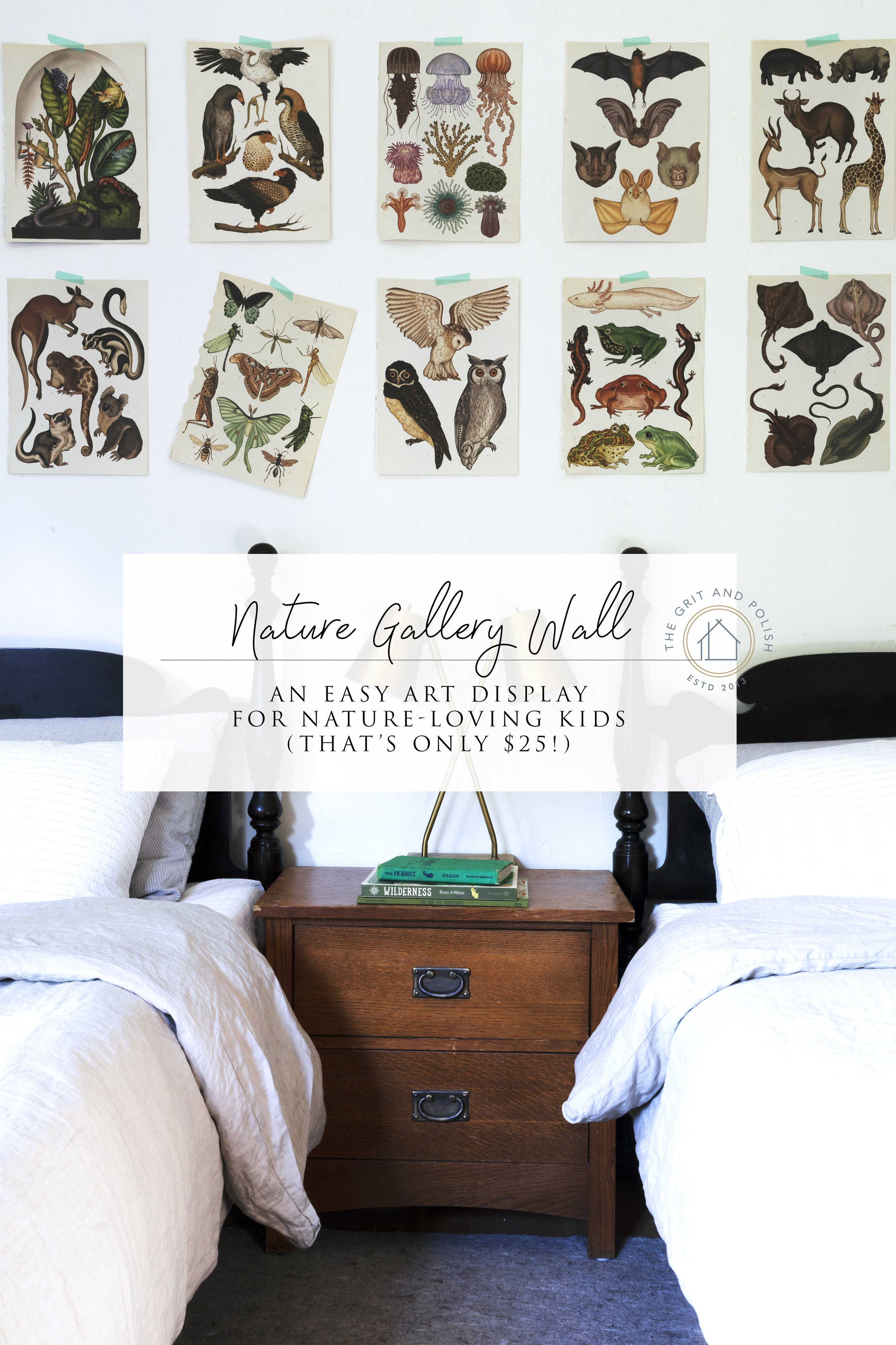 The Grit and Polish - Kids Nature Gallery Wall.jpg