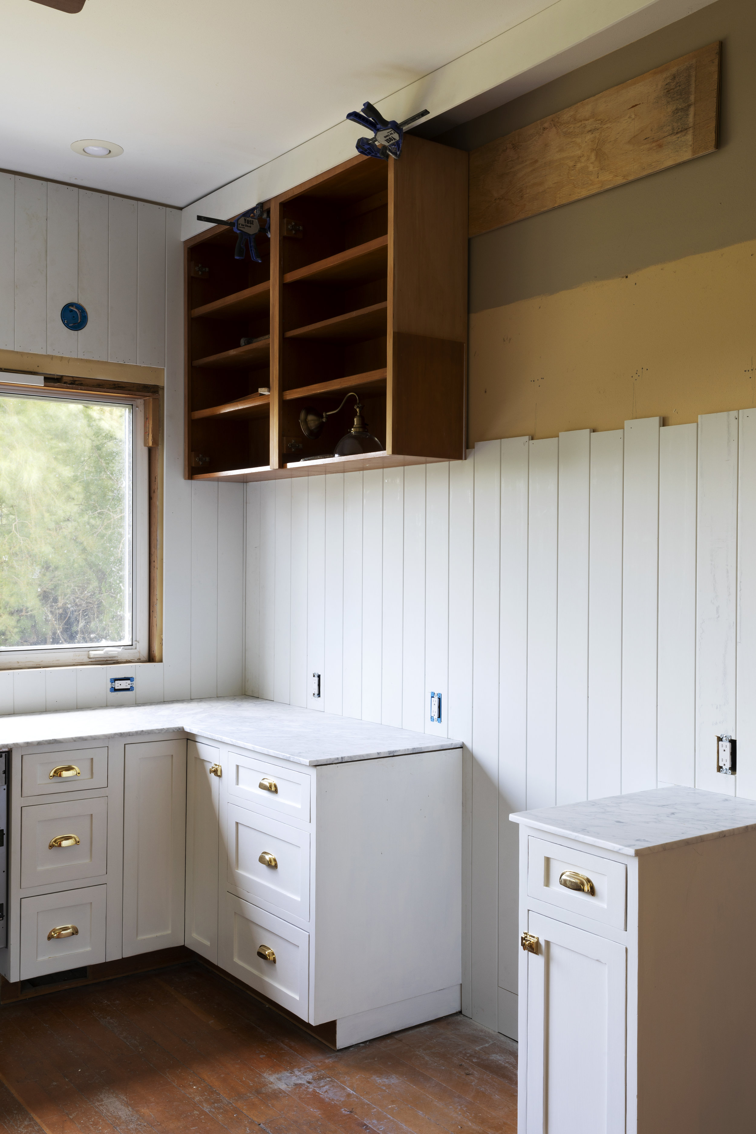 The Grit and Polish - Farmhouse Kitchen July Update Corner.jpg