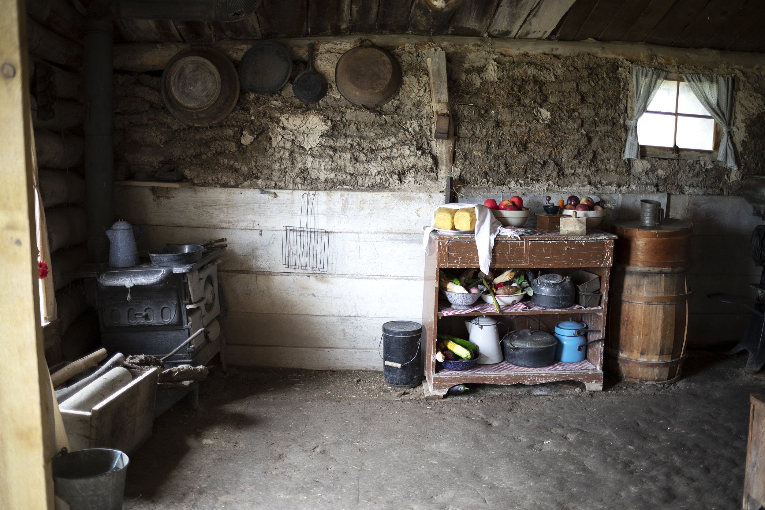 The Grit and Polish - 1906 Homestead South Dakota Sod Kitchen.jpg
