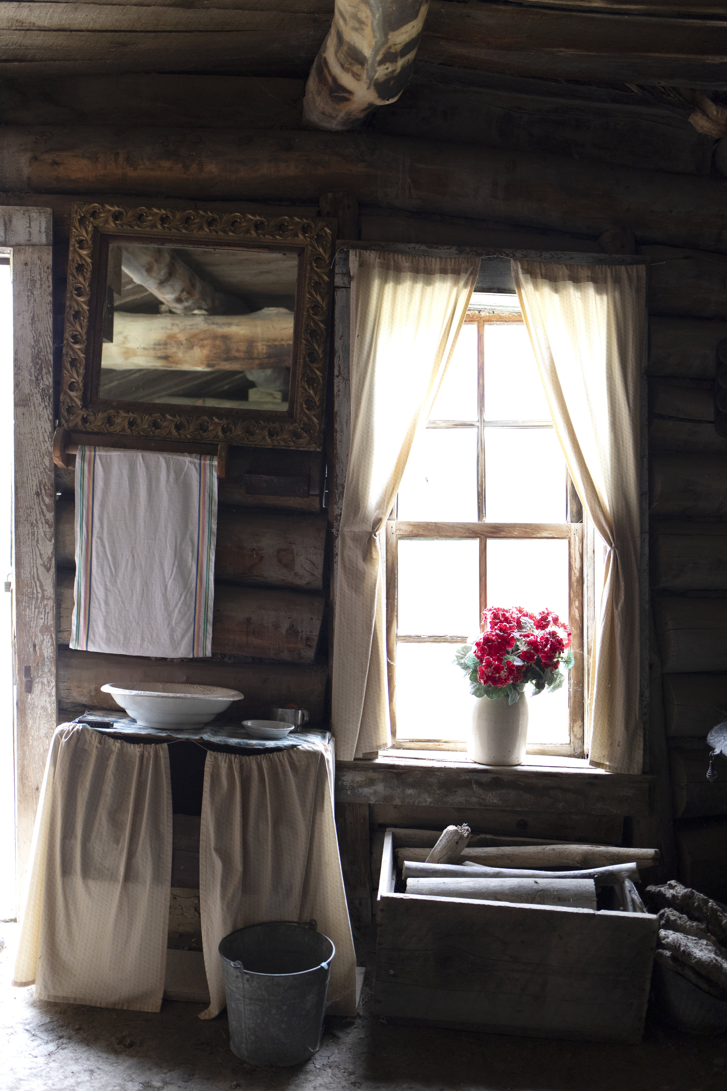 The Grit and Polish - 1906 Homestead South Dakota Kitchen Window.jpg