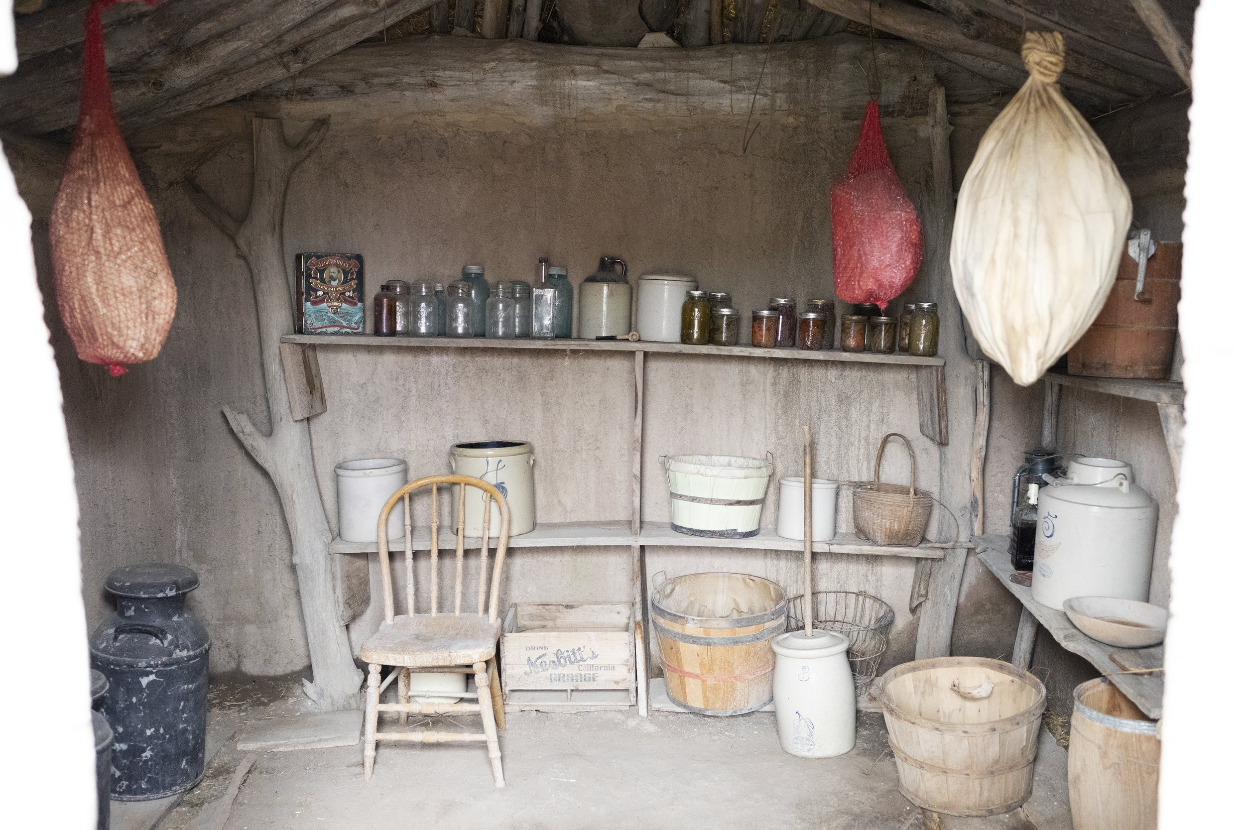 The Grit and Polish - 1906 Homestead South Dakota Pantry.jpg