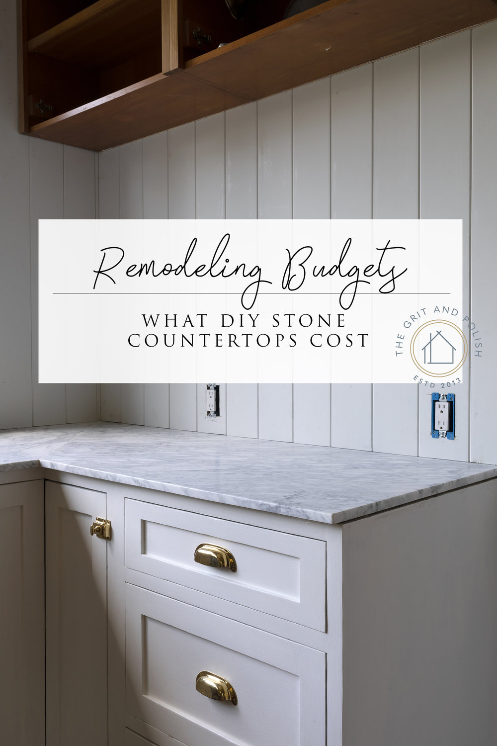 Farmhouse Kitchen // What our DIY Marble Countertops Cost ...