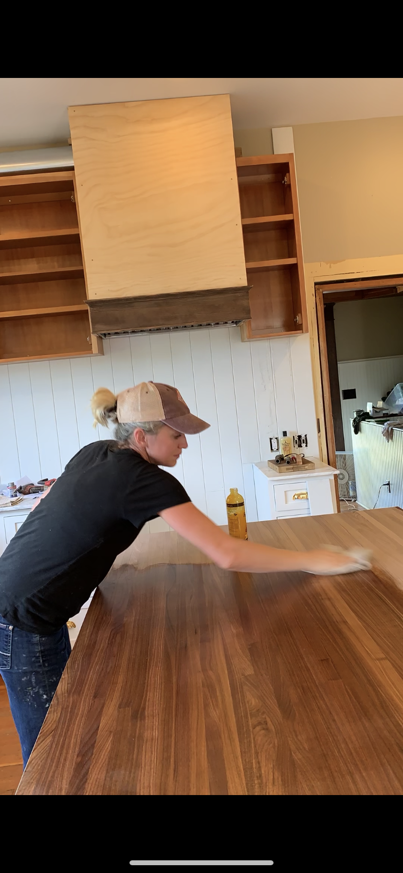 Diy How To Cut Sand Install And Finish A Butcher Block