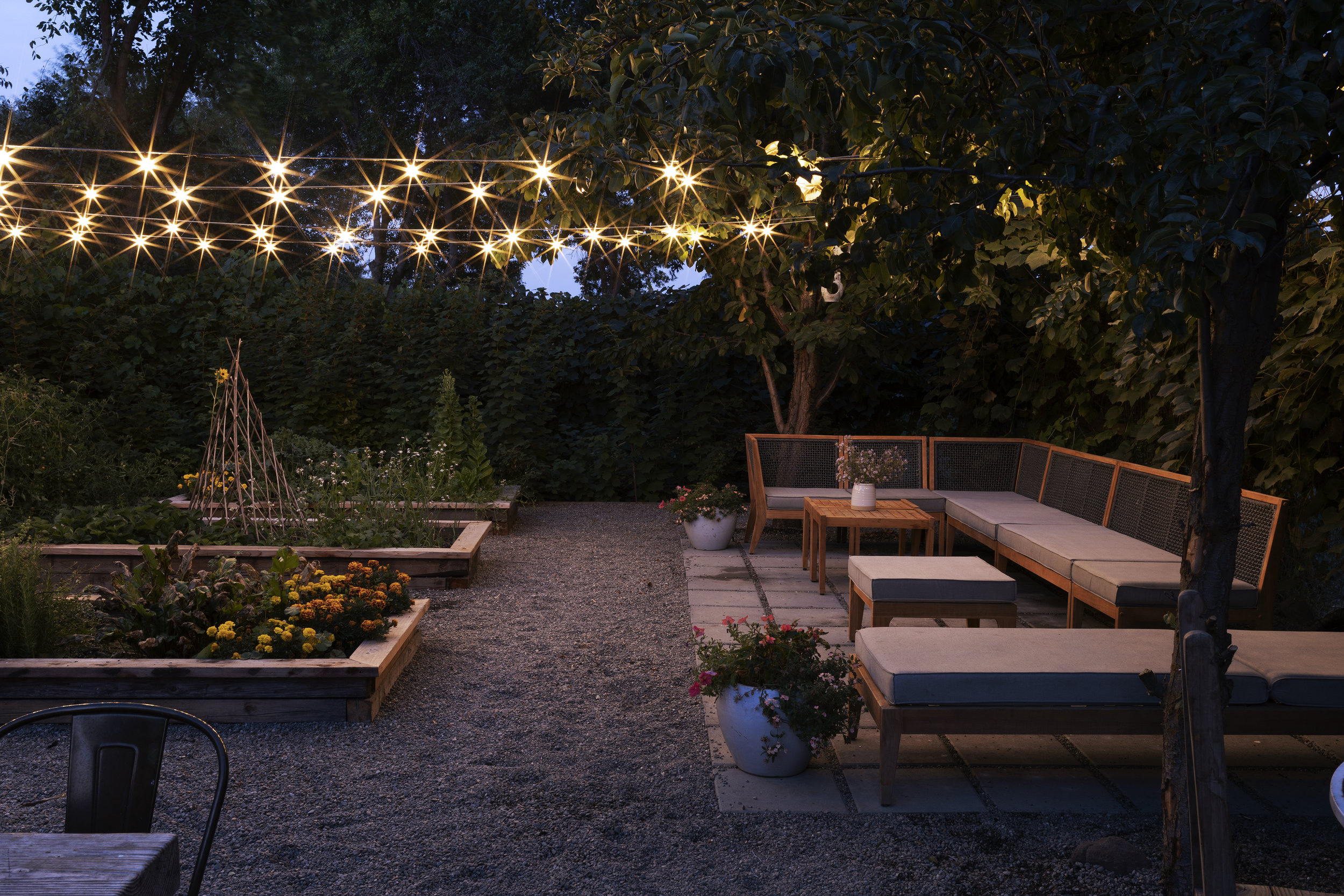 The Grit and Polish - Farmhouse Garden at Night 4.jpg