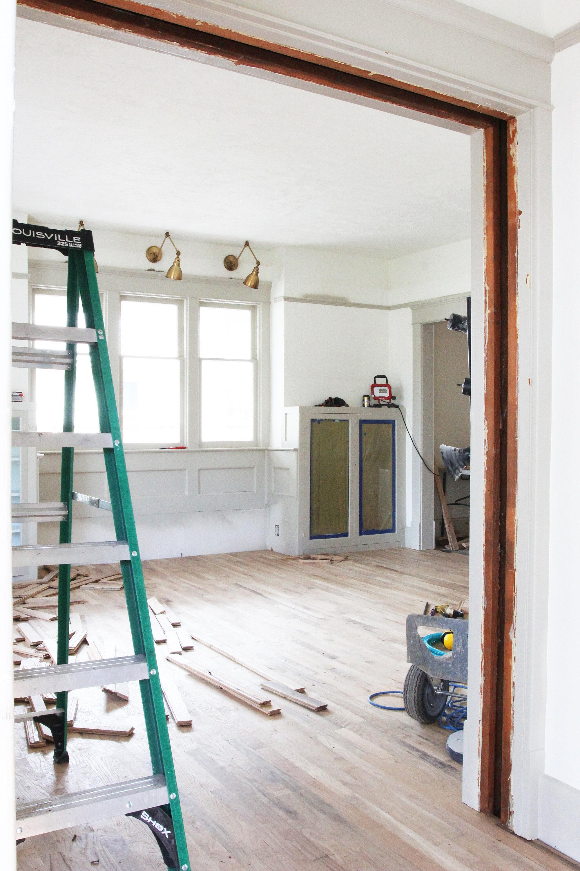 The Grit and Polish - Porch House Living Rm Progress.jpg