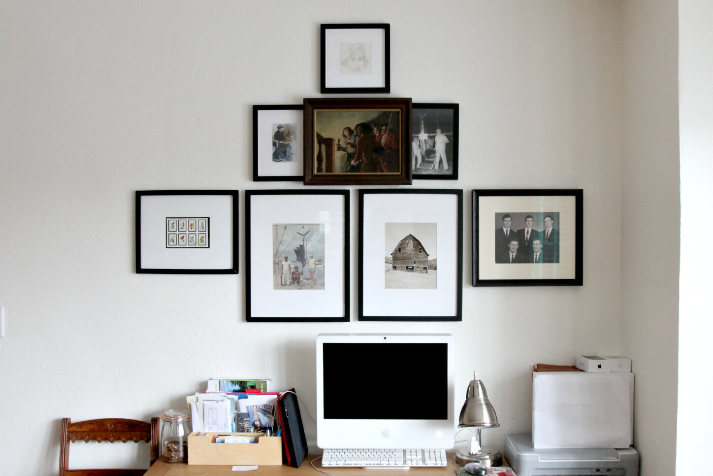 The Grit and Polish - Sissy's Gallery Wall