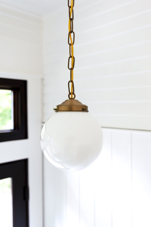 How To Center An Off Center Ceiling Light Without Moving The Junction Box The Grit And Polish